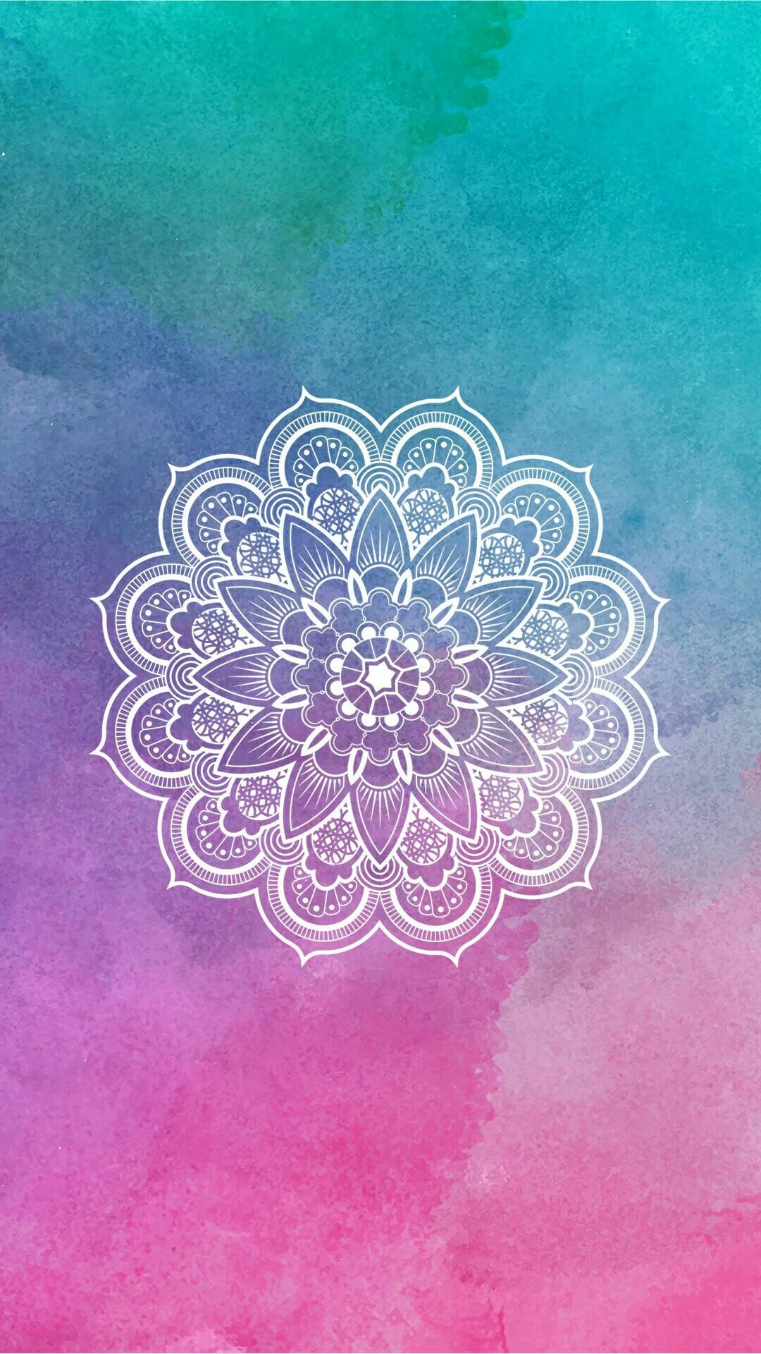 Mandala / Wallpaper / lockscreen / colorido