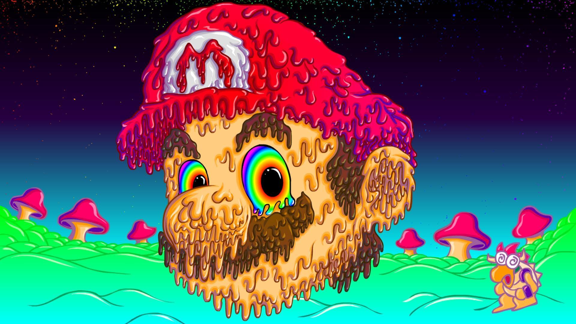 Trippy Mario [1920×1080] …
