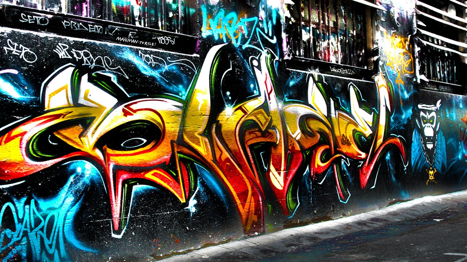 Artistic – Graffiti Trippy Psychedelic Urban Urban Art Wallpaper