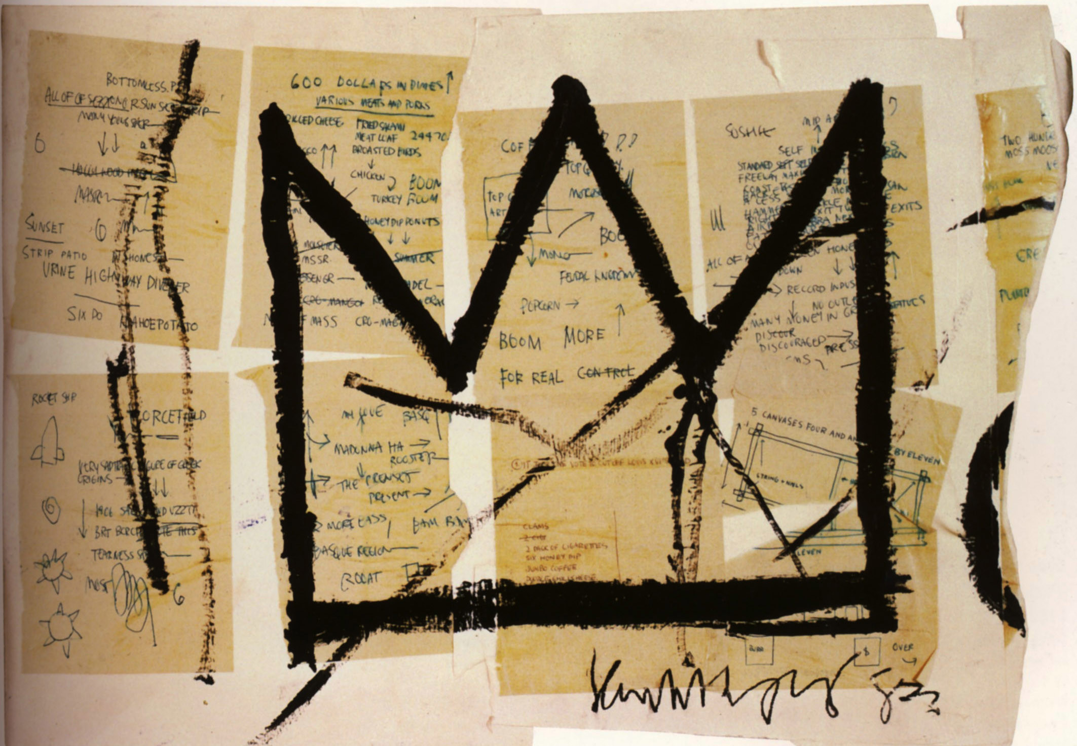 Crown, 1983 – Jean-Michel Basquiat