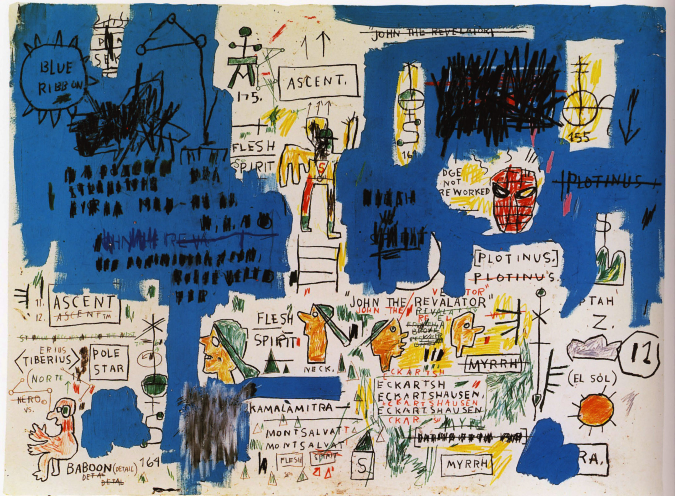 Jean-Michel Basquiat, Ascent on ArtStack