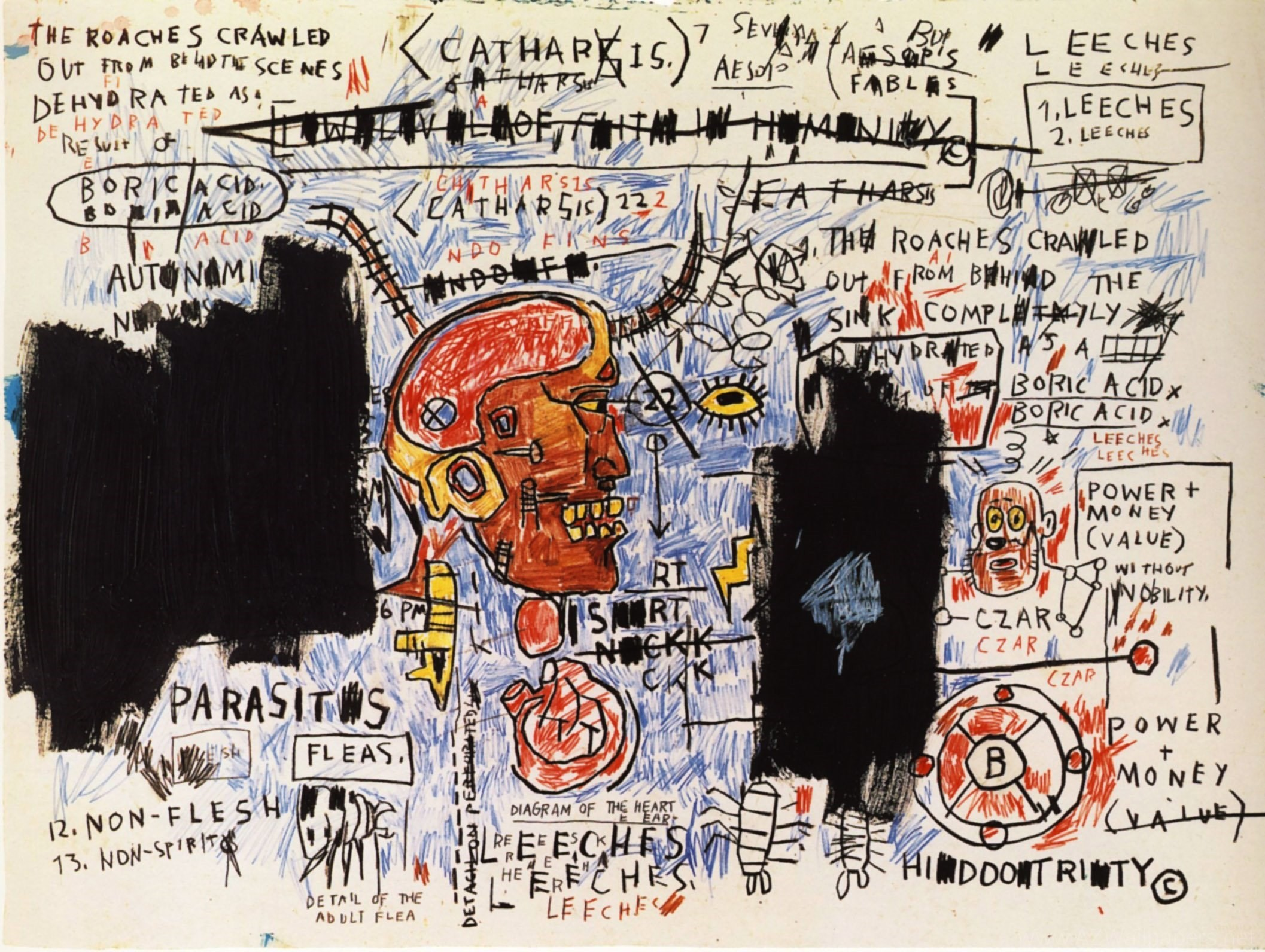 Nicolas Landau: Jean Michel Basquiat High Quality Wallpapers