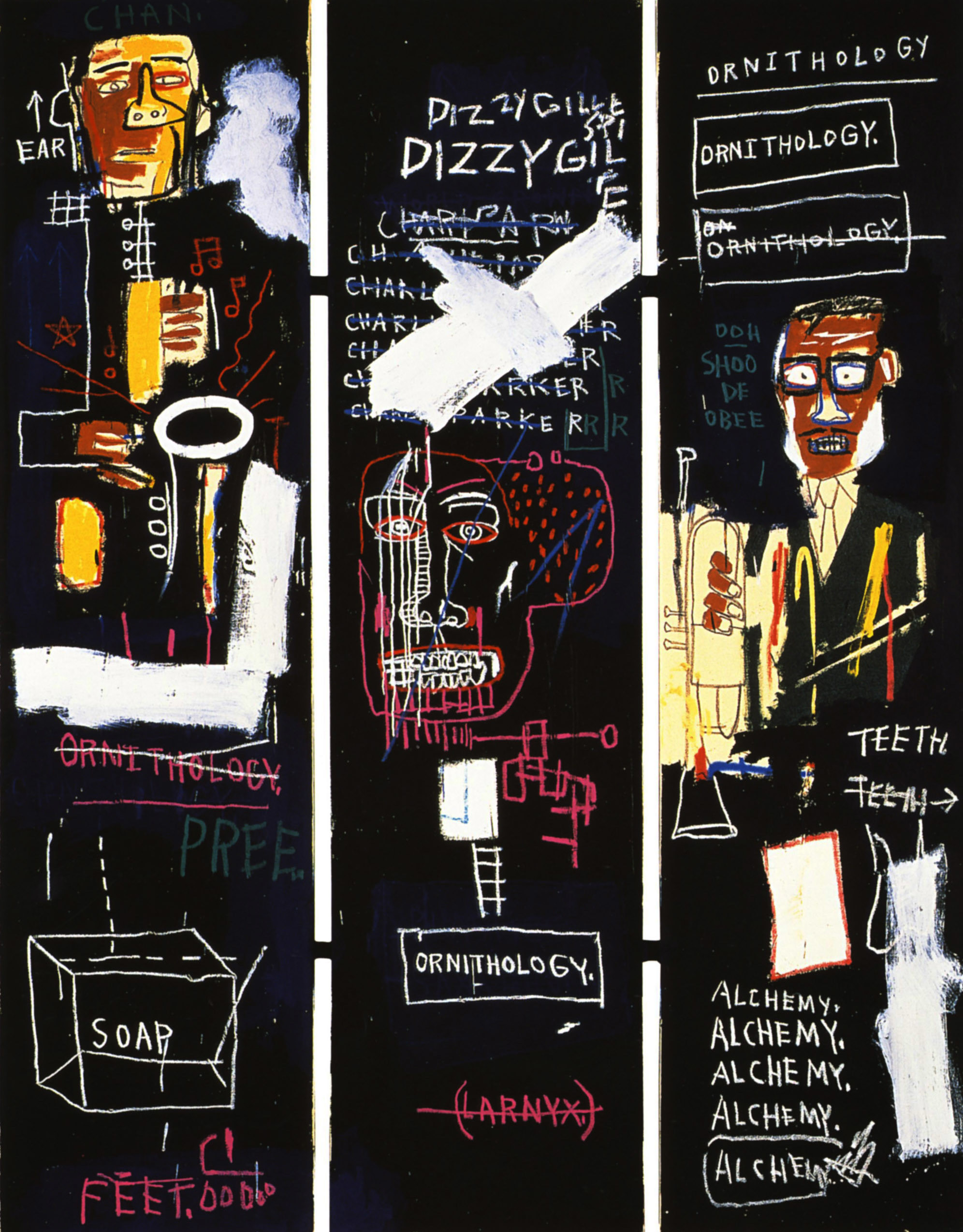… Basquiat's Horn Players …