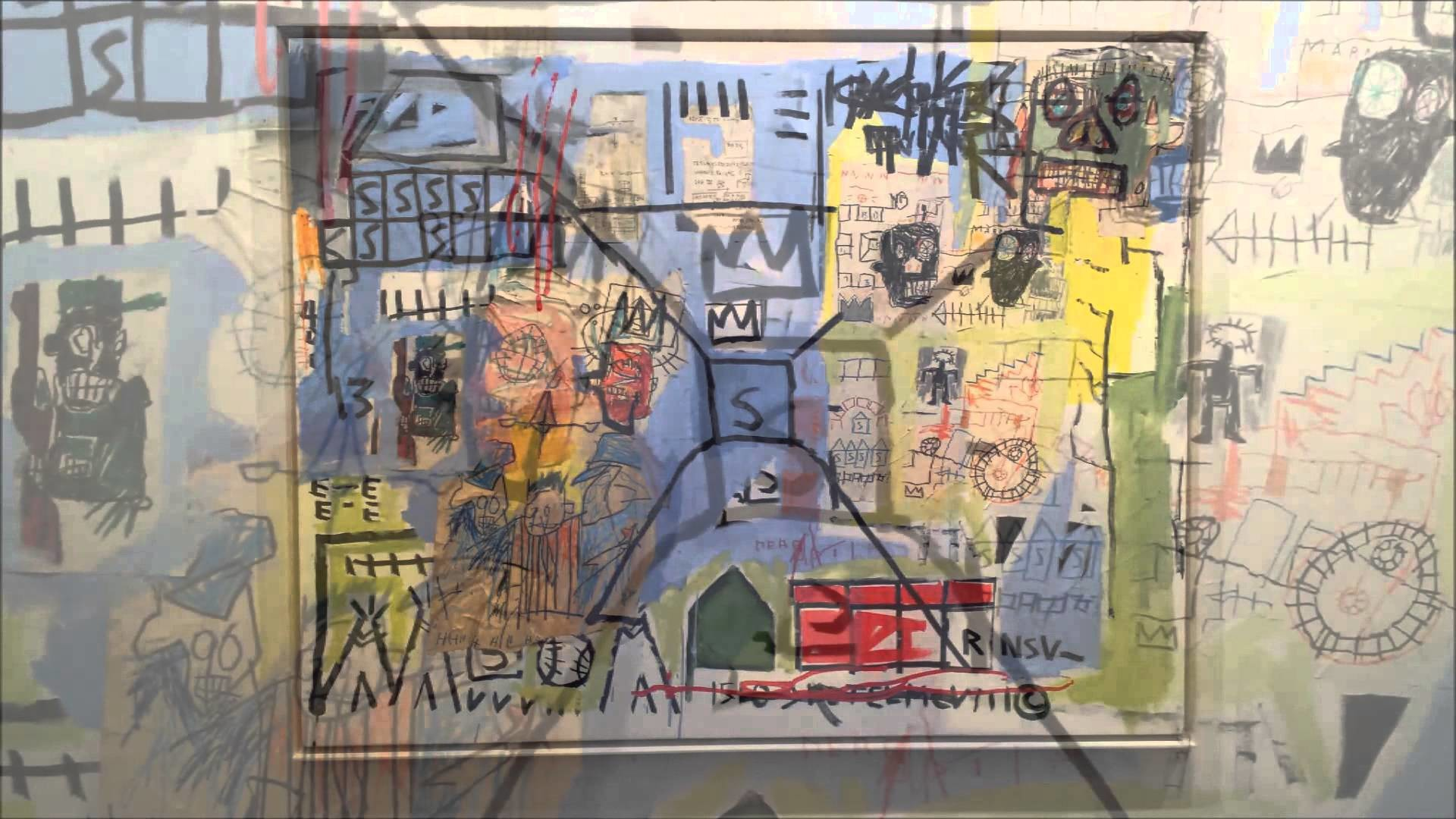 Comparison between Haring and Basquiat (Christian Munoz)