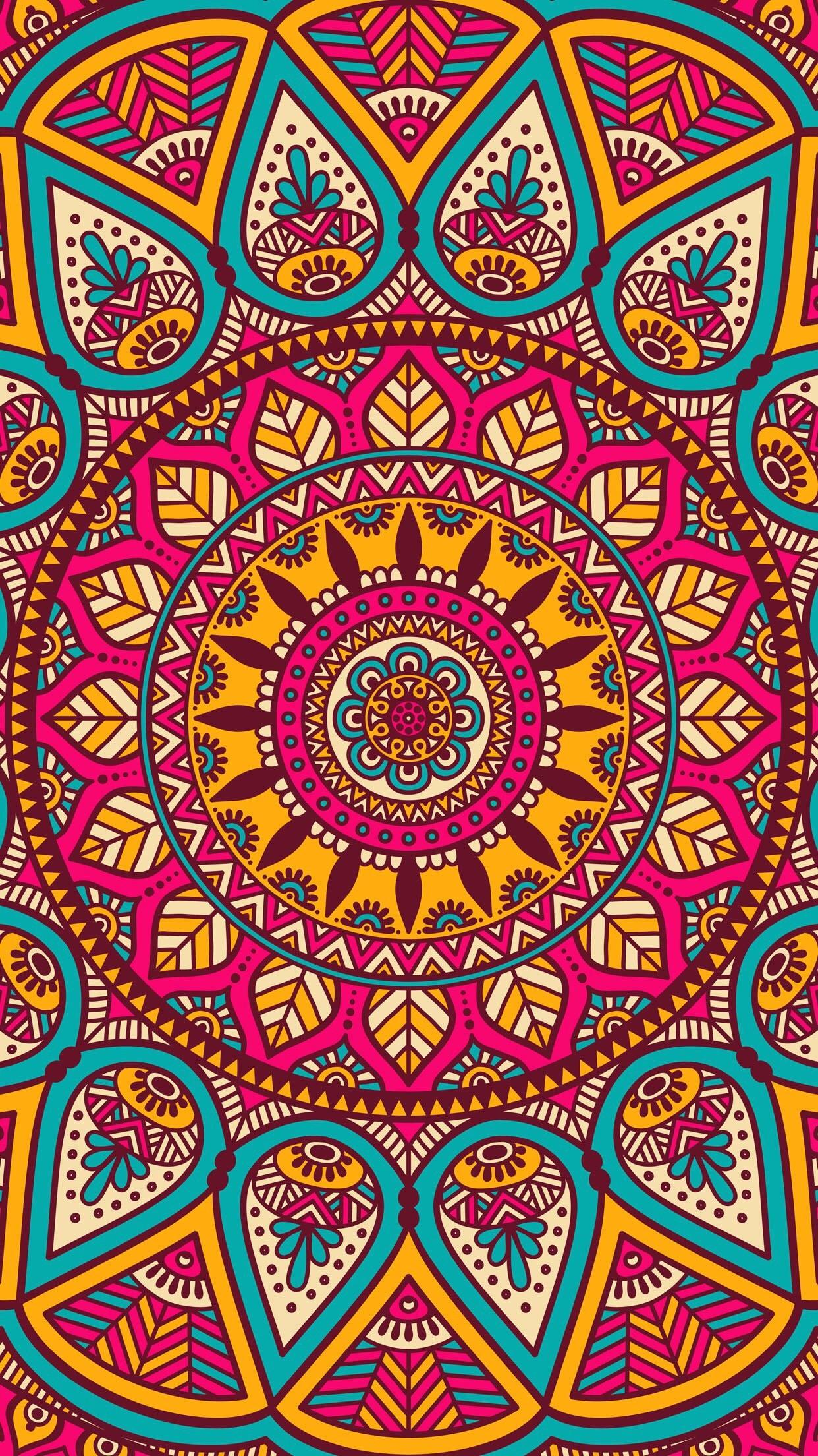 #Patterns #mandalas. Iphone BackgroundsWallpaper …