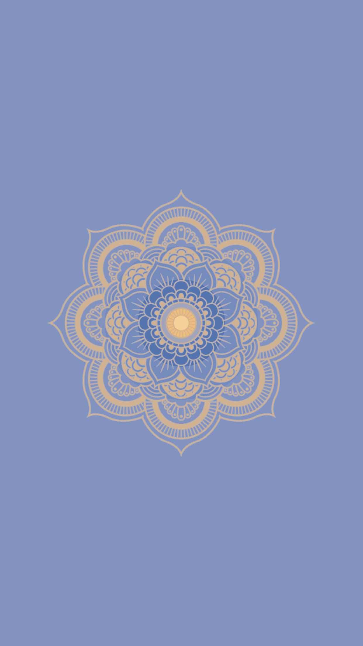 Mandala Wallpaper Set – 3 of ➄