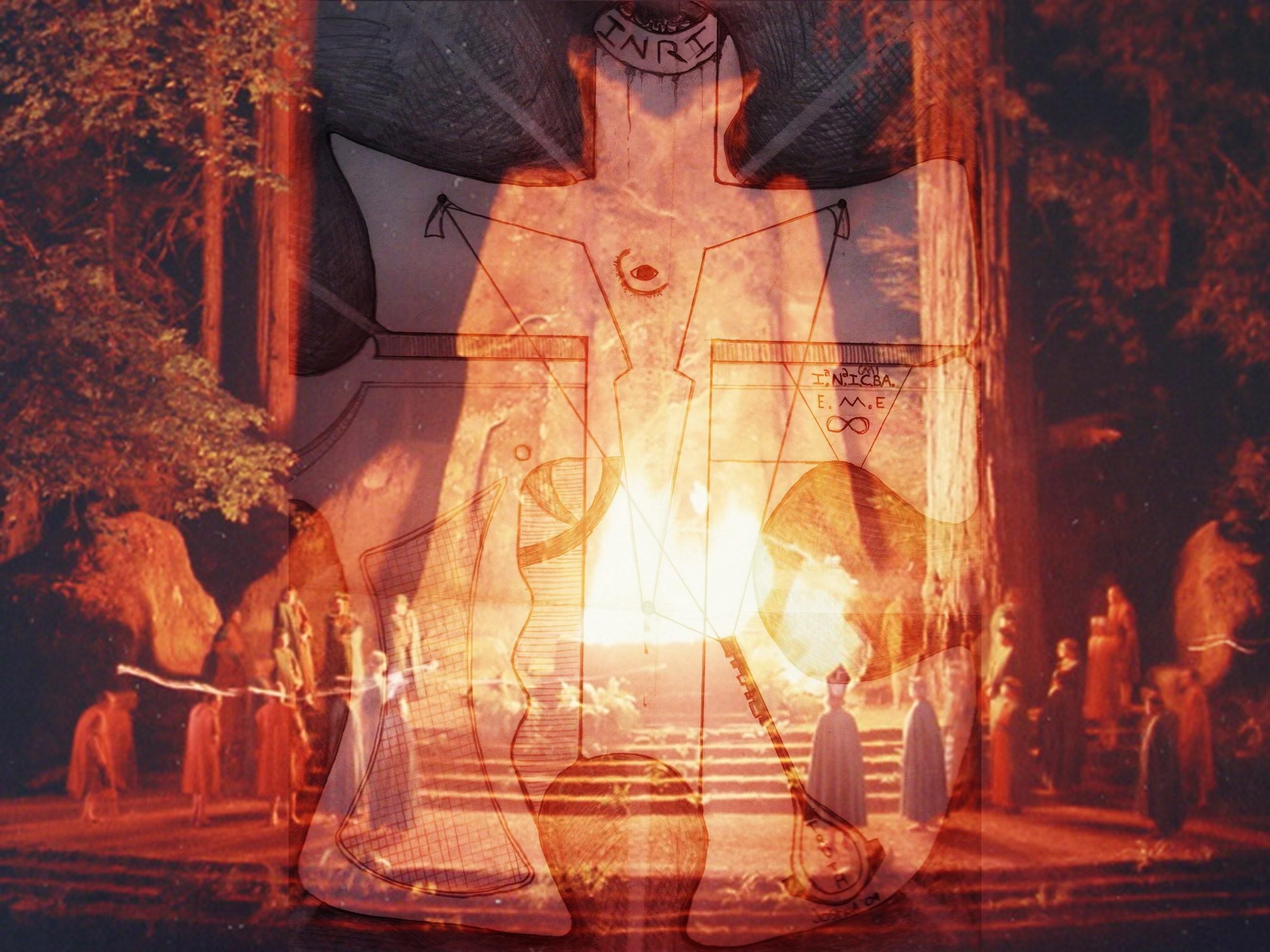 Illuminati Bohemian Satanic Occult Wallpaper At Dark Wallpapers