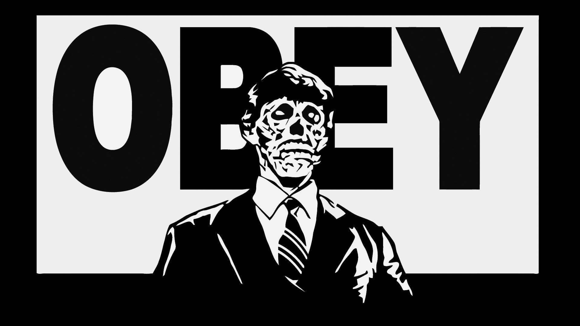 Download obey HD Wallpaper