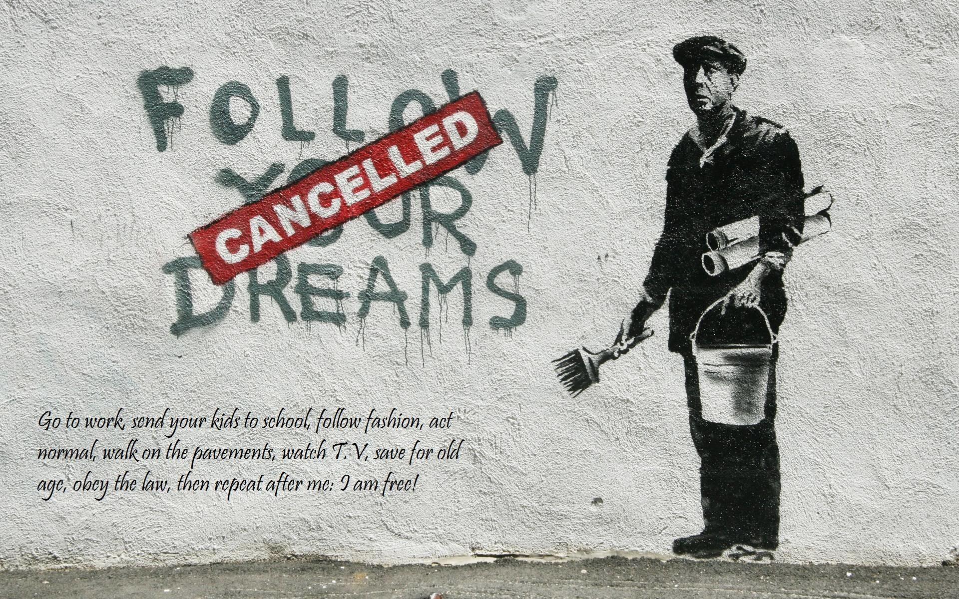 graffiti-banksy-street-art-hd-wallpaper | Caliber Magazine