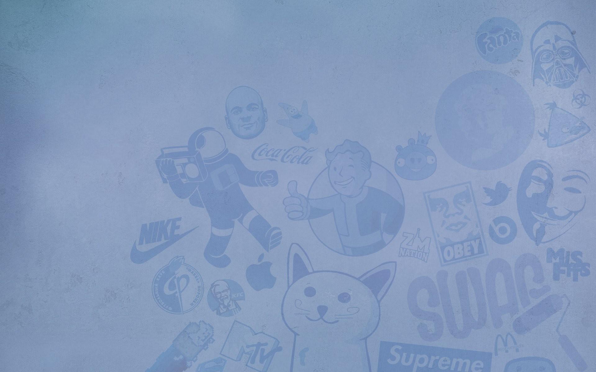 brand obey mcdonalds nike supreme superman fallout