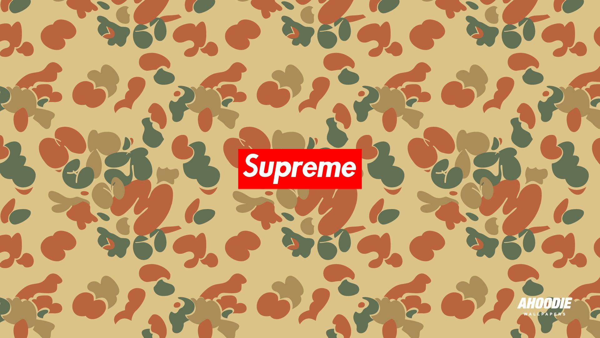 Supreme   We Heart It   supreme, camo, and obey
