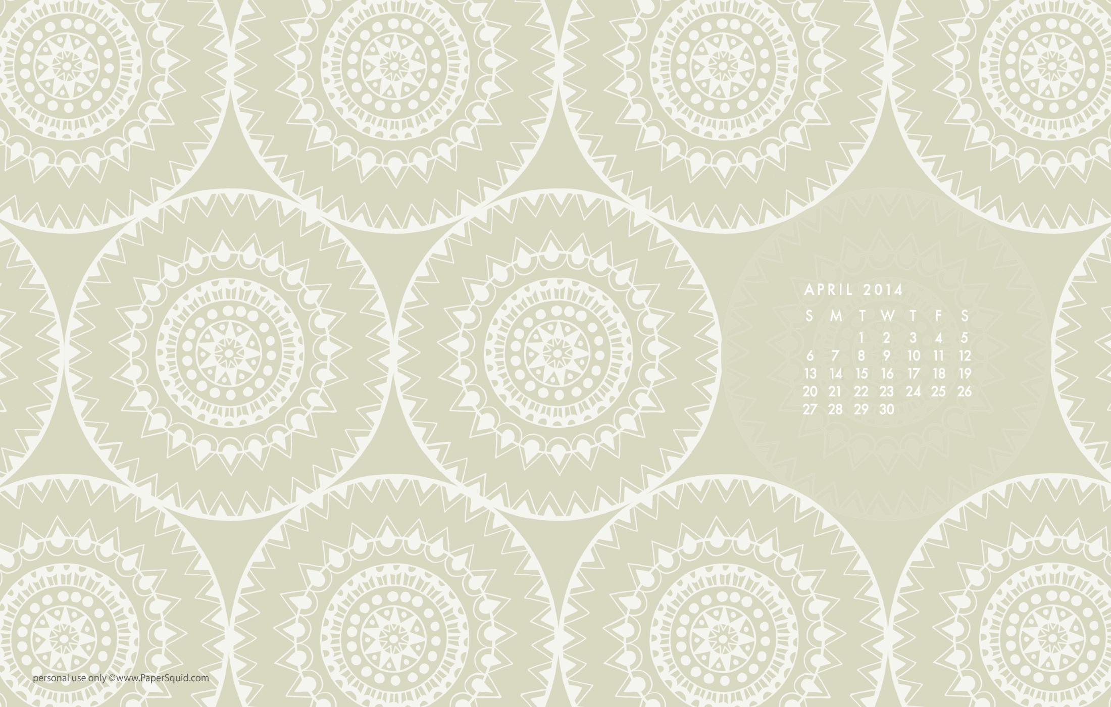 Download the mandala wallpaper, calendar version here