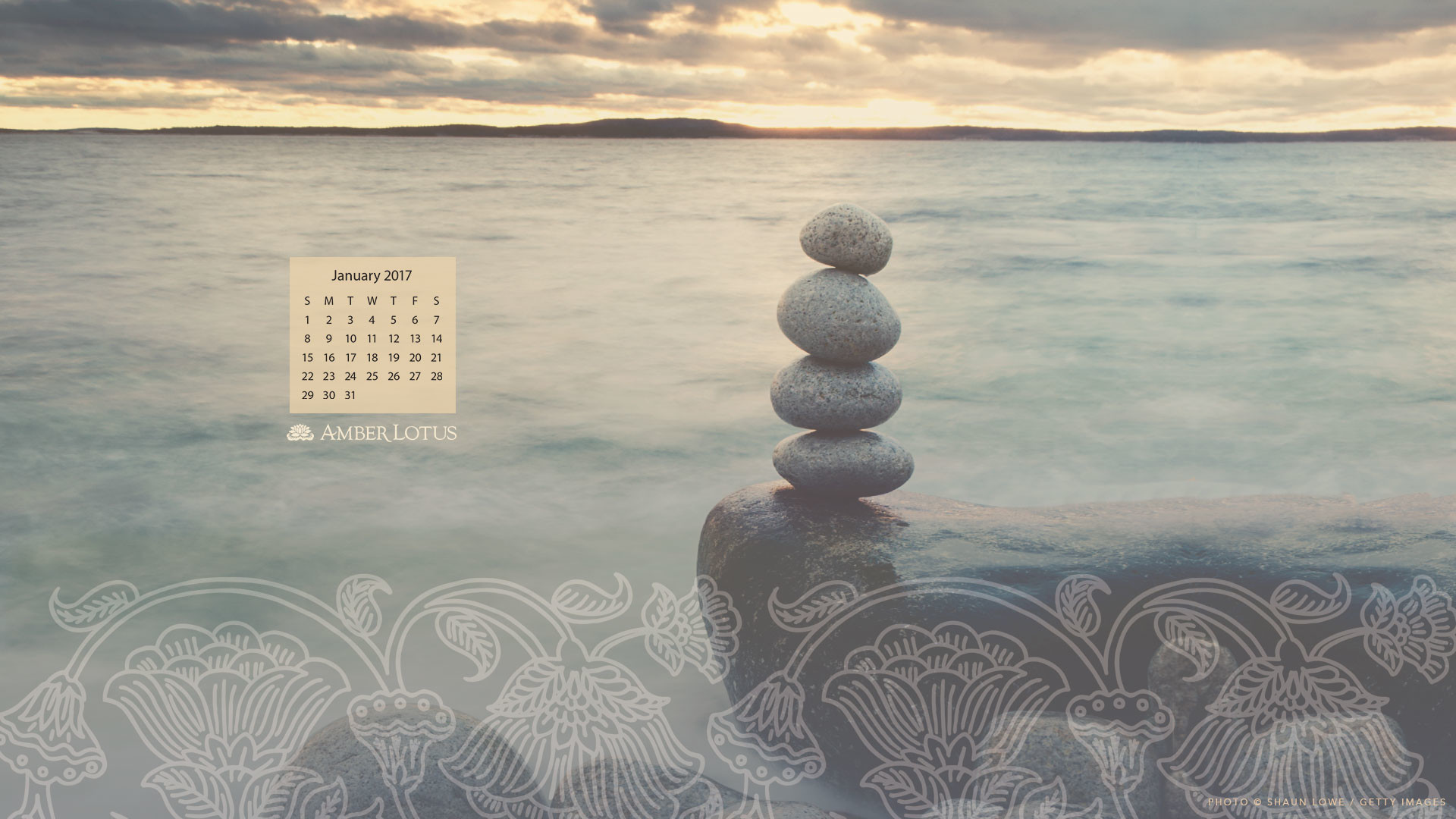 Free January 2017 desktop wallpaper