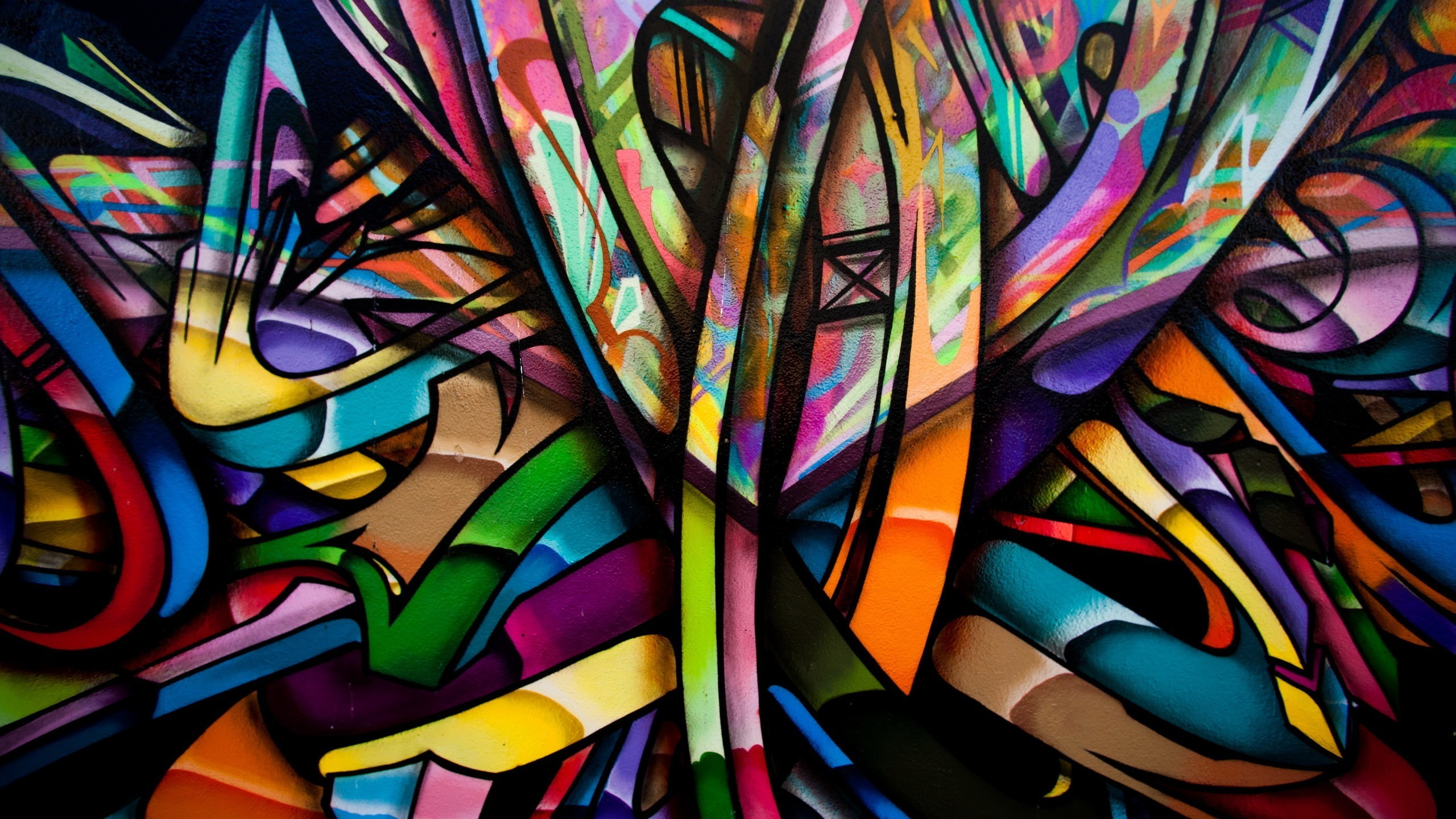 abstract, Colorful, Graffiti, Walls, Artwork, Painting Wallpapers HD /  Desktop and Mobile Backgrounds