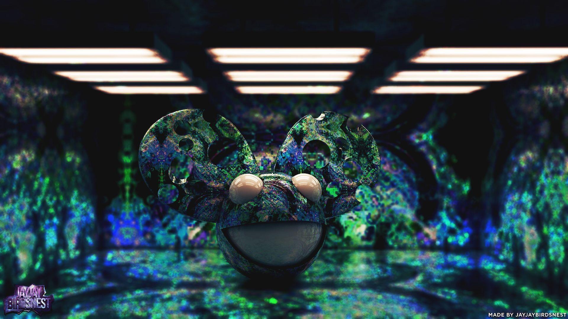 DeviantArt: More Like Methmau5 – Trippy Deadmau5 Wallpaper by .
