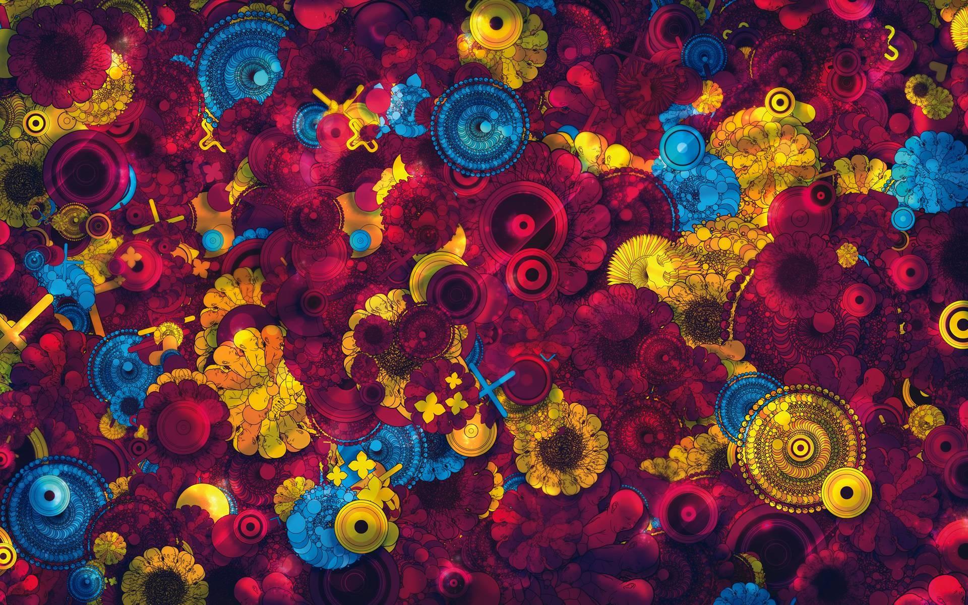 Psychedelic Desktop Wallpaper – www.