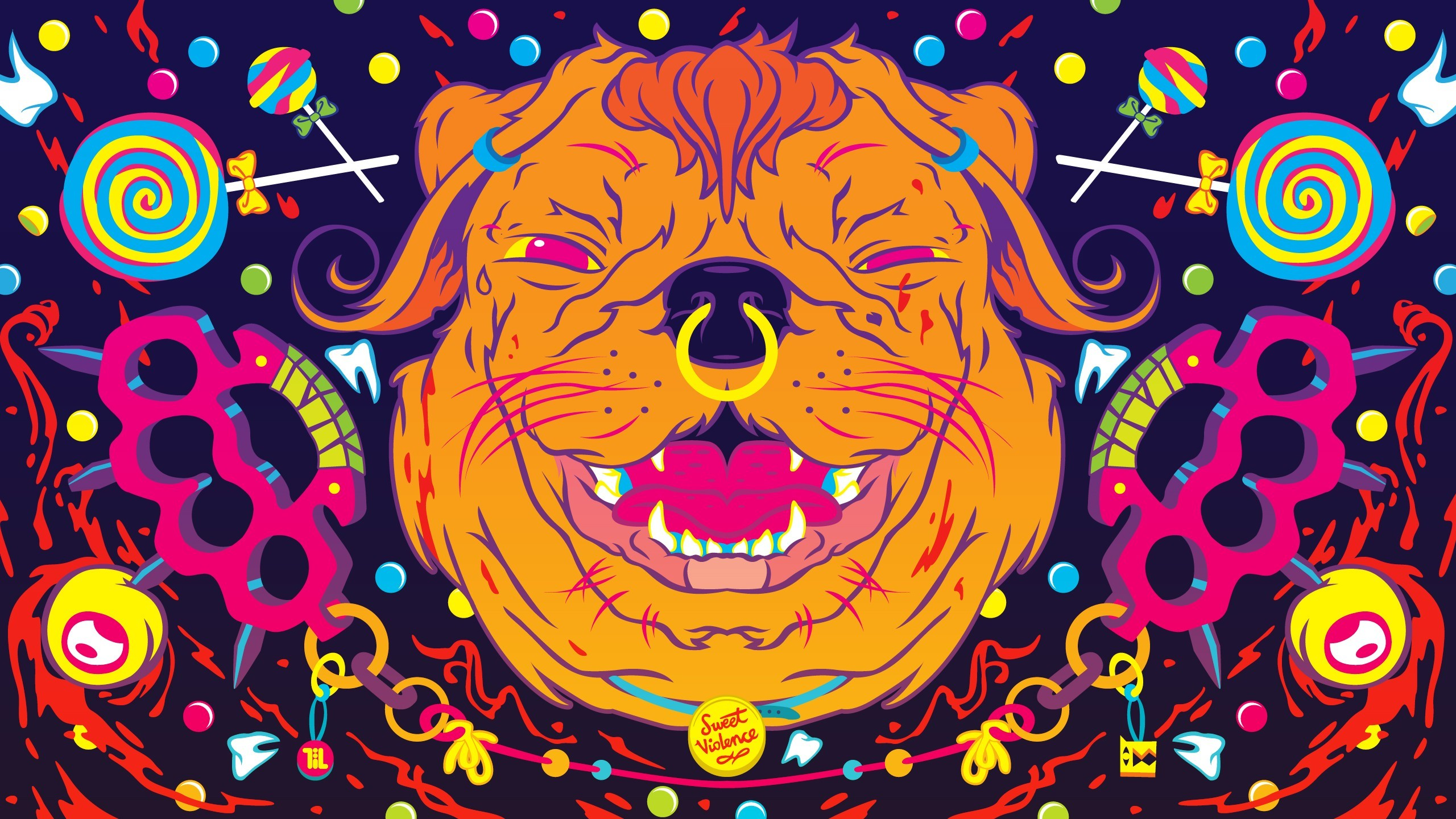 Psychedelic and Trippy Backgrounds for your desktop 2560×1440 Trippy Psychedelic  Backgrounds (18 Wallpapers