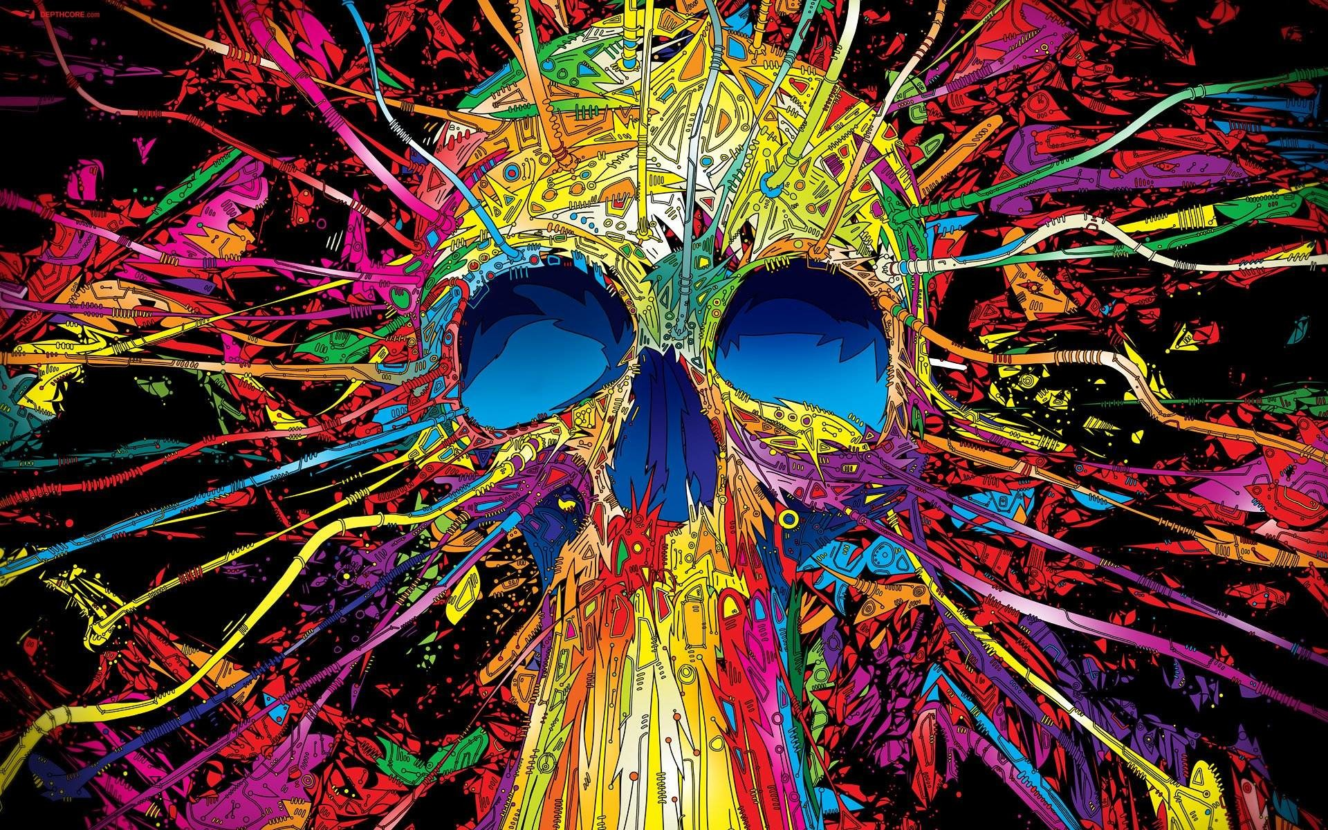 Psychedelic Art Wallpapers (32 Wallpapers)