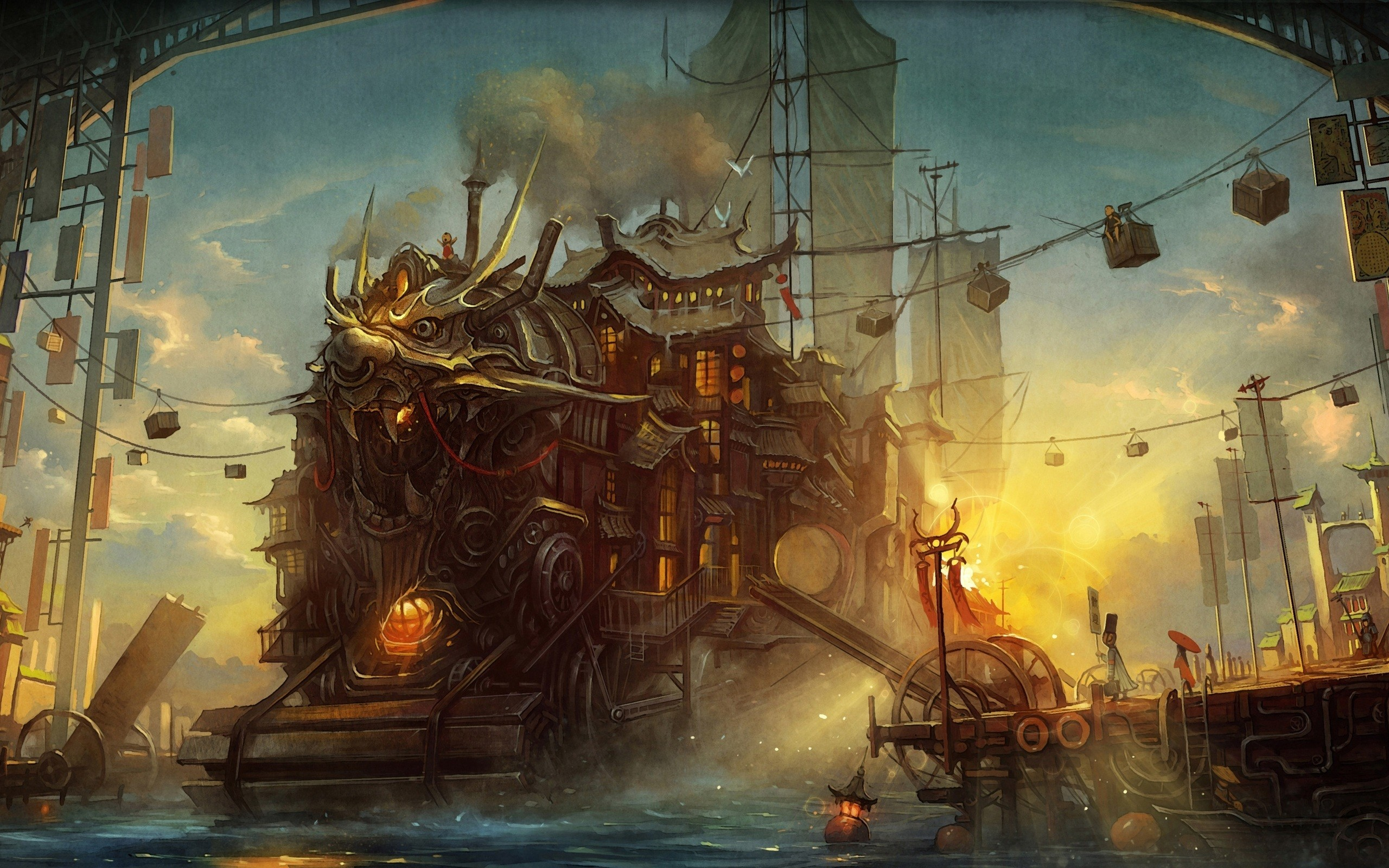 HD Wallpaper | Background ID:347702. Sci Fi Steampunk