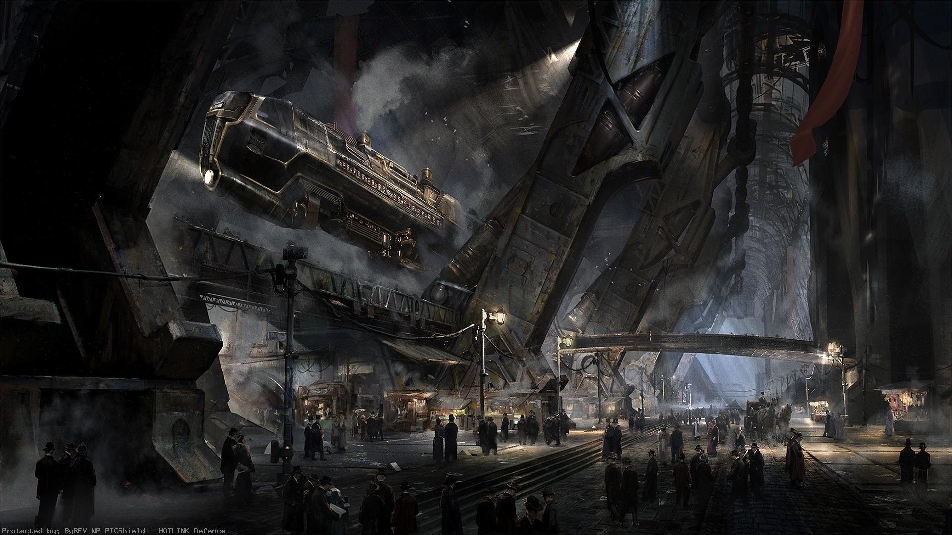 Victorian-fantasy-art-airships-DeviantArt-steampunk-1920%C3%