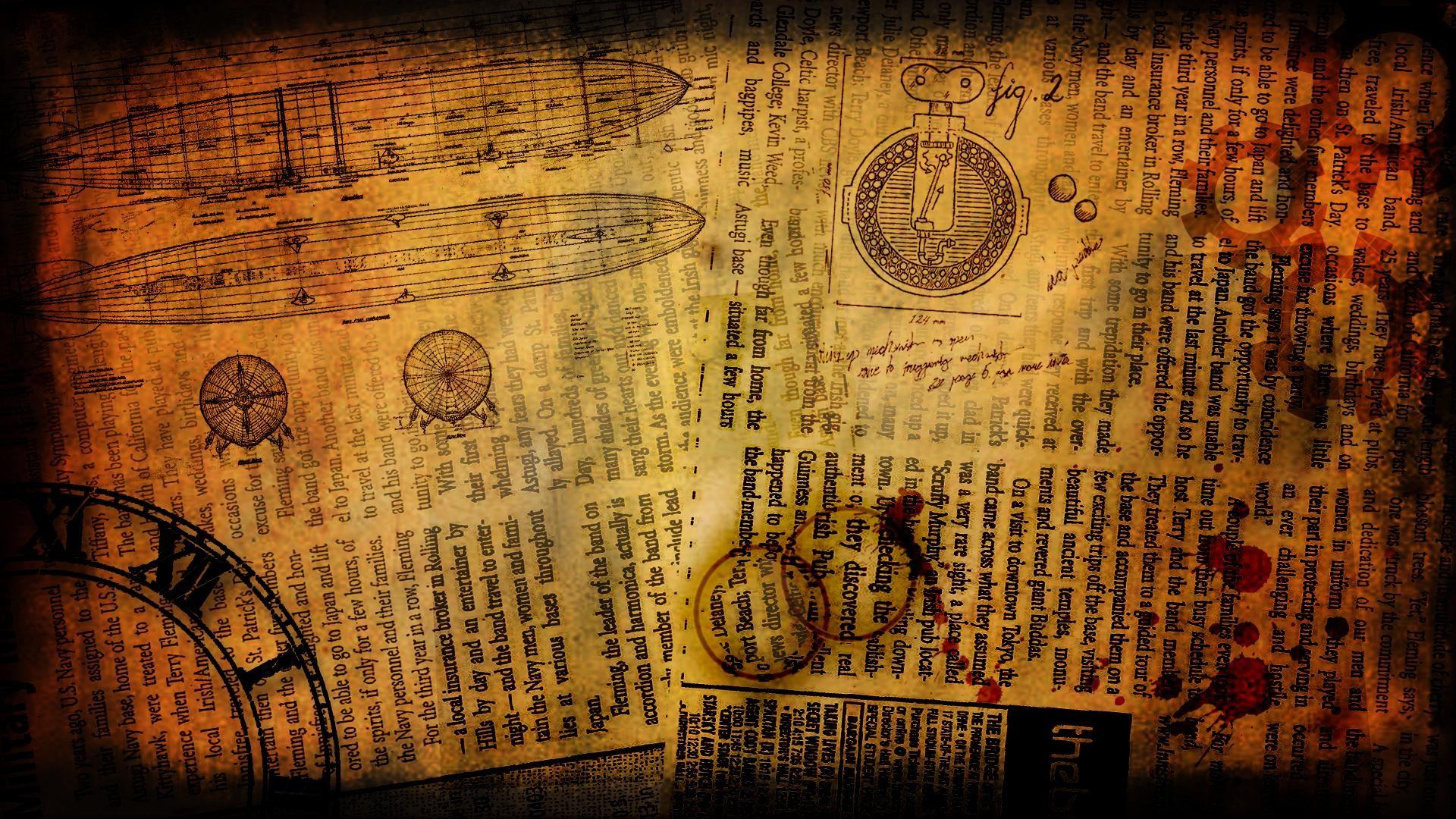 DeviantArt: More Like Steampunk Wallpaper [1920×1080] by Bluepaw90