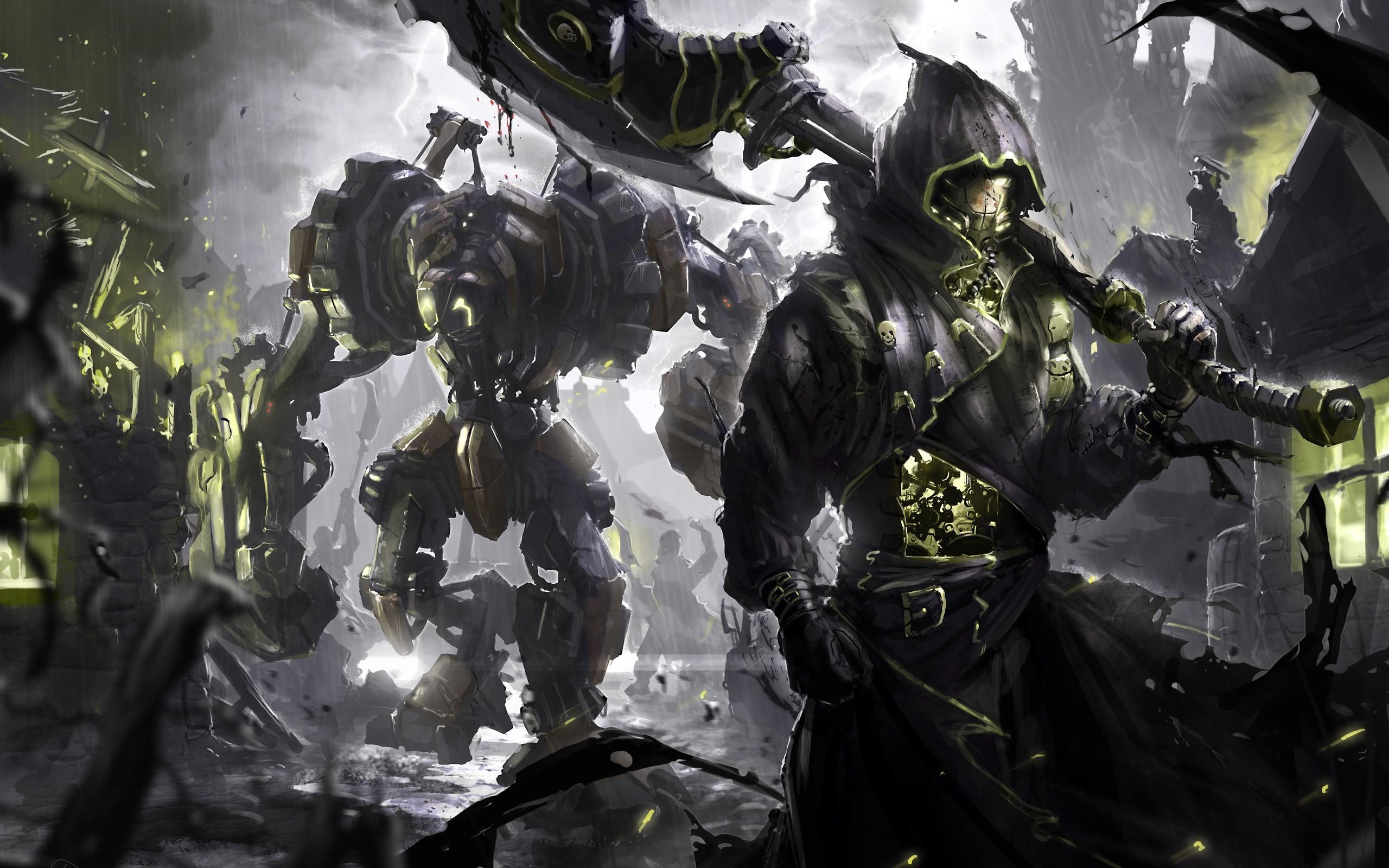 artwork, Fantasy Art, Warrior, Steampunk Wallpapers HD / Desktop and Mobile  Backgrounds