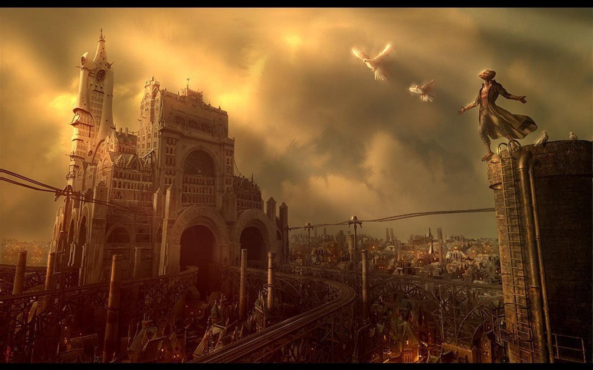 Images desktop Steampunk Wallpapers HD.