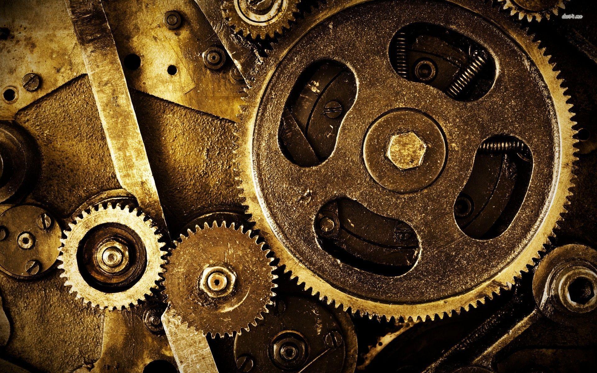 Mechanical Gears Wallpaper Hd Gears a machine is any device