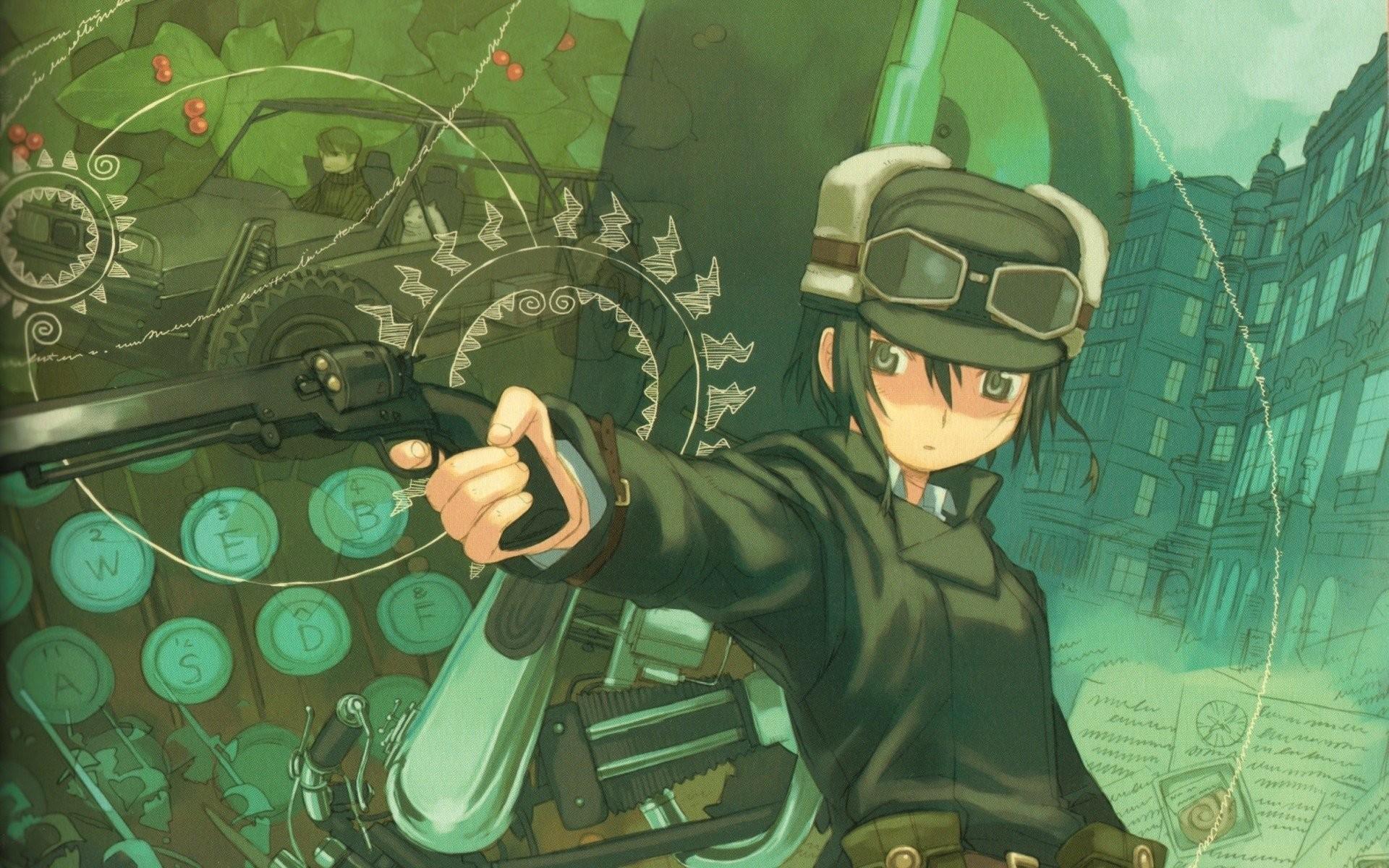 HD Wallpaper | Background ID:110455. Anime Steampunk