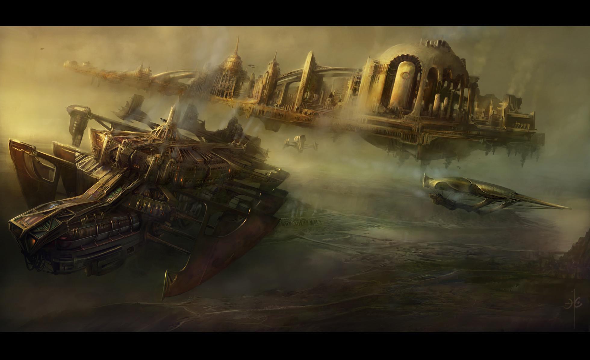 HD Wallpaper | Background ID:236906. Sci Fi Steampunk