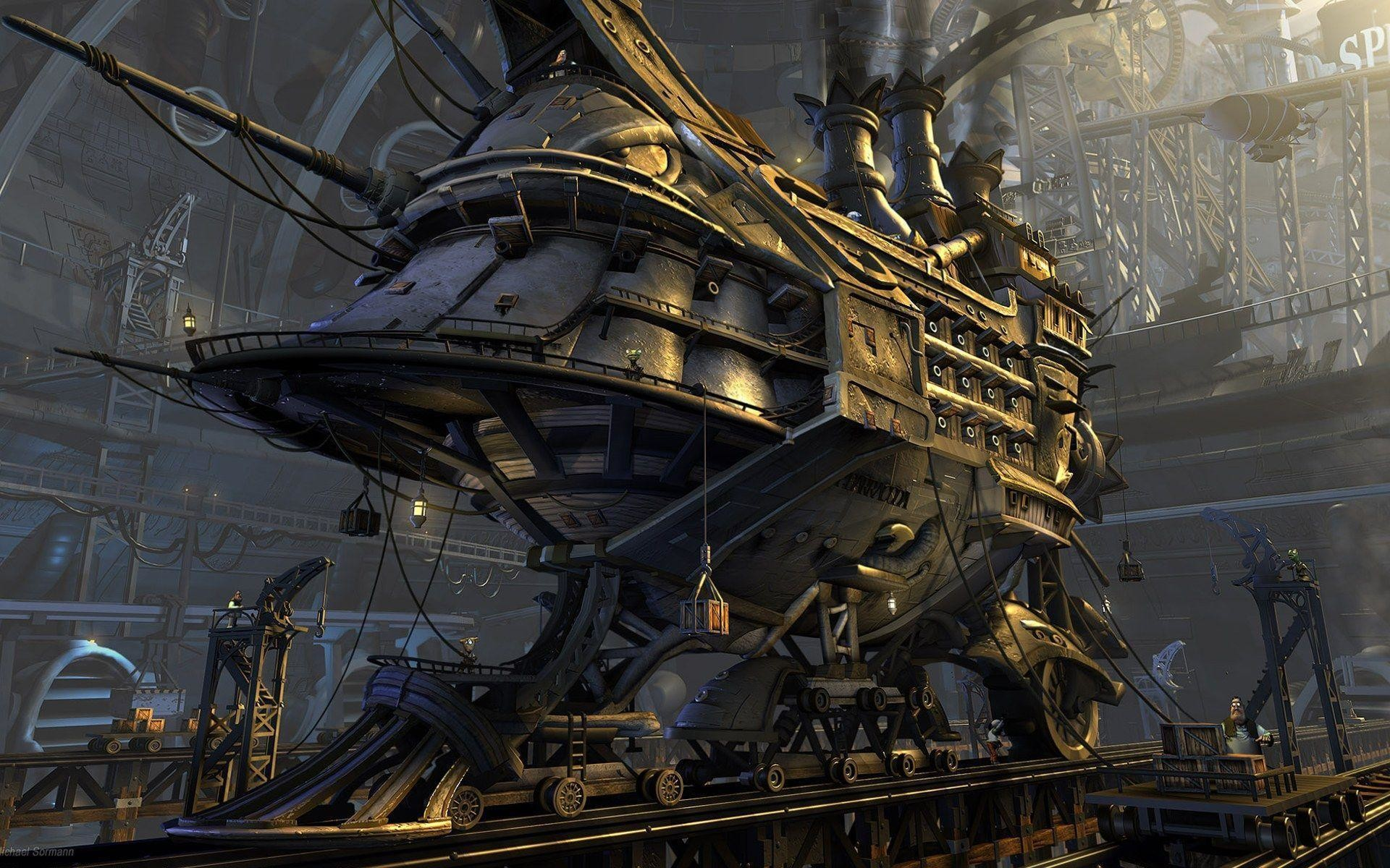 Steampunk Wallpapers – Full HD wallpaper search – page 14