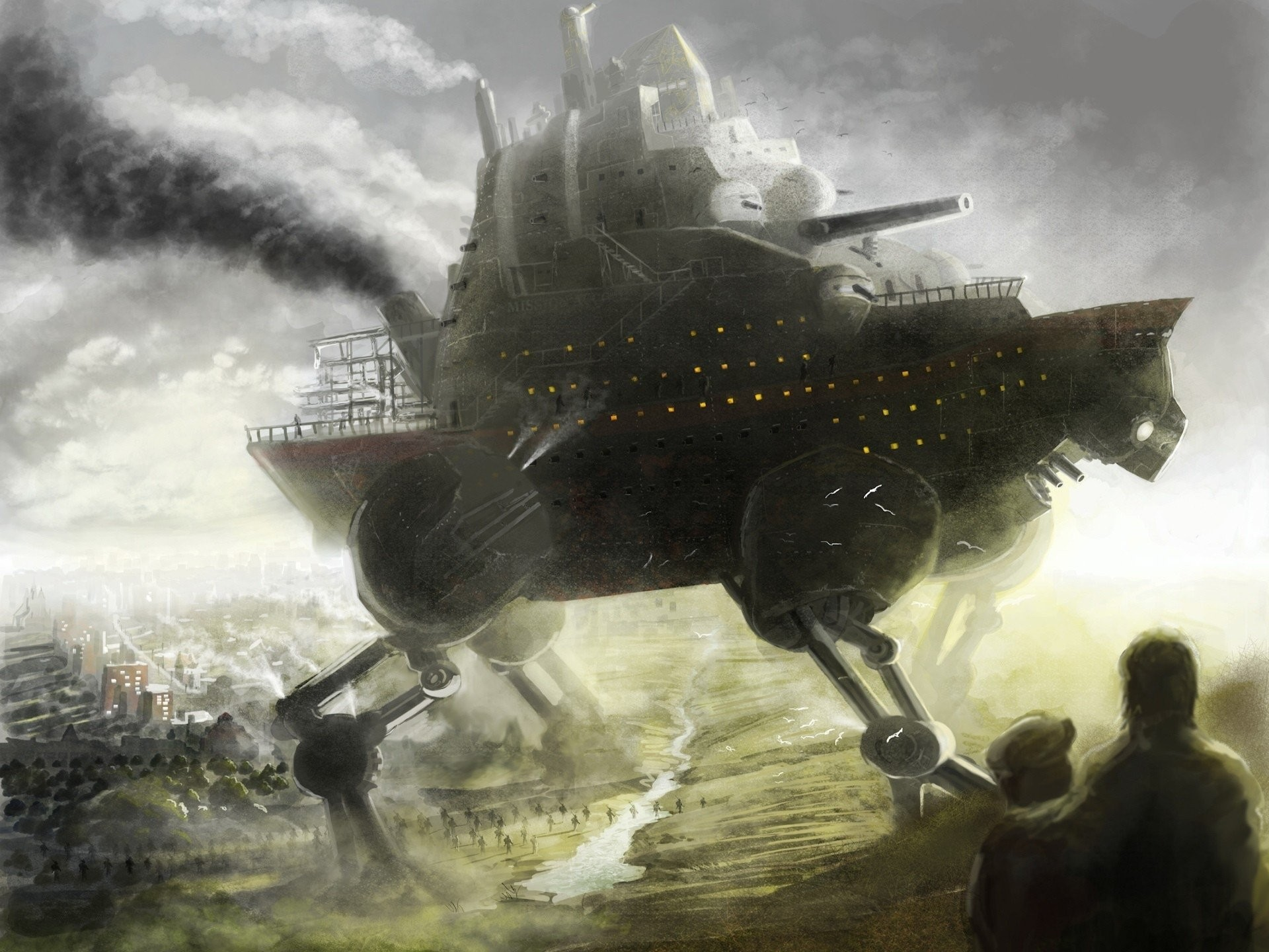 HD Wallpaper | Background ID:217366. Sci Fi Steampunk