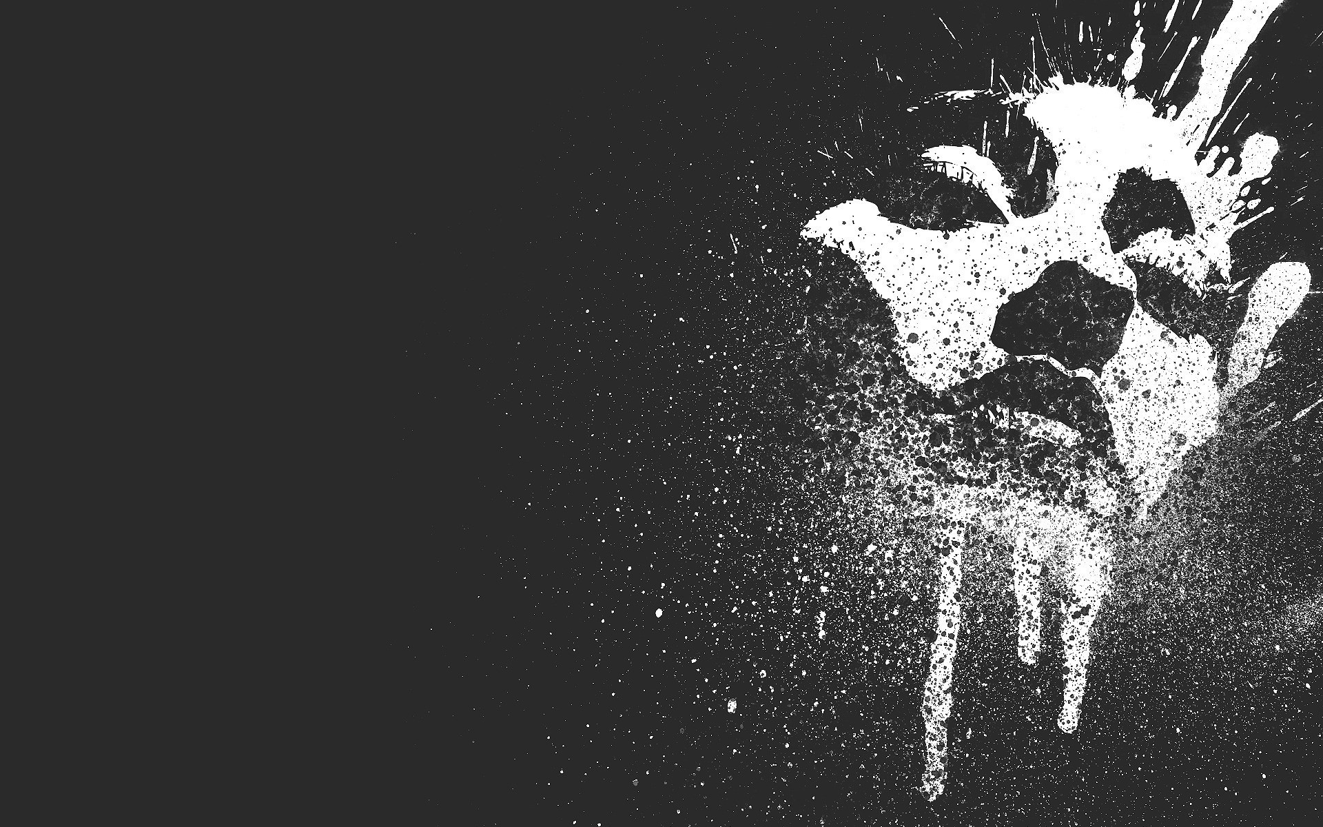 ink splatter woman – Google Search