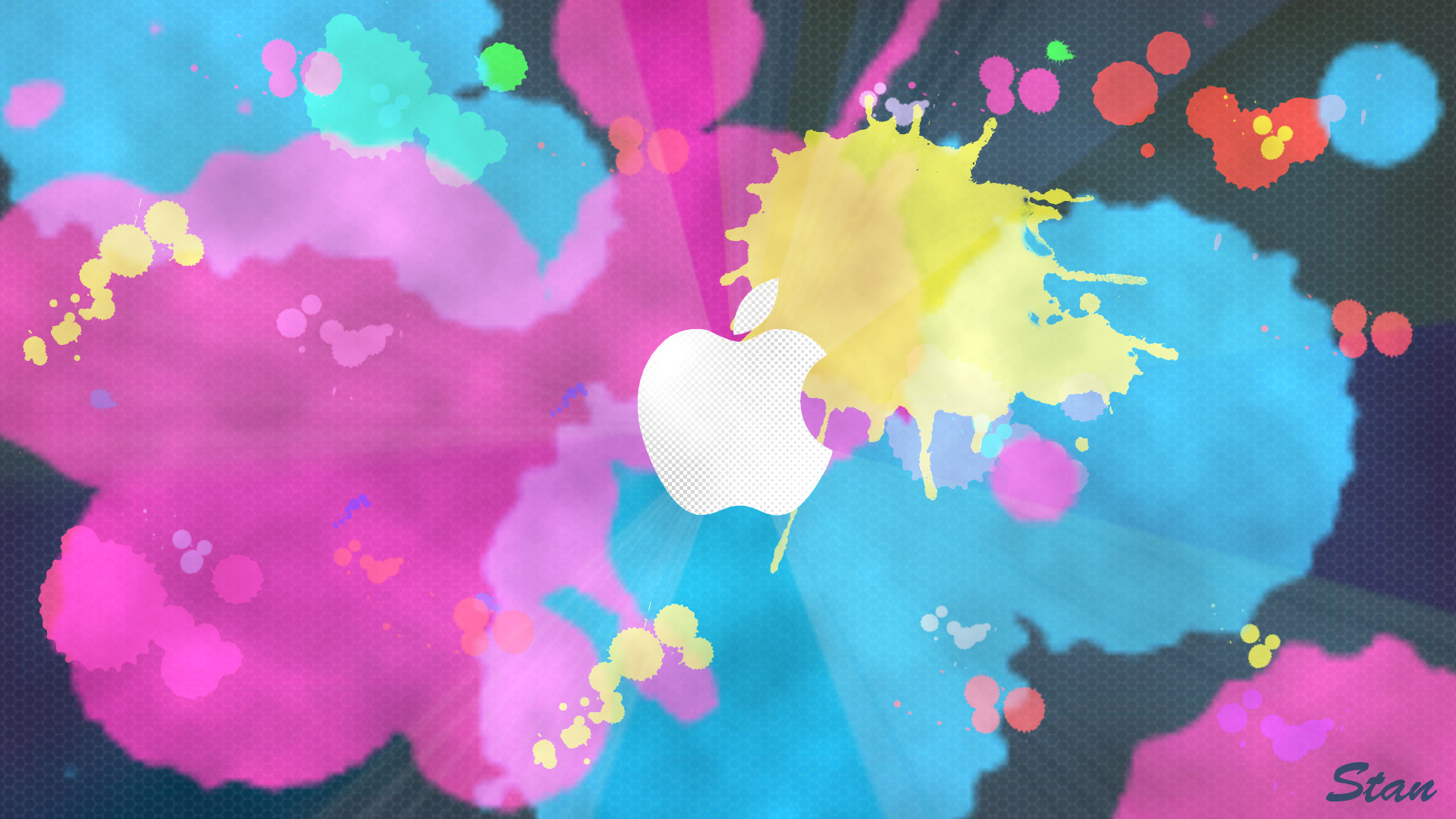 Apple Background – Paint by mylifeasstan on DeviantArt