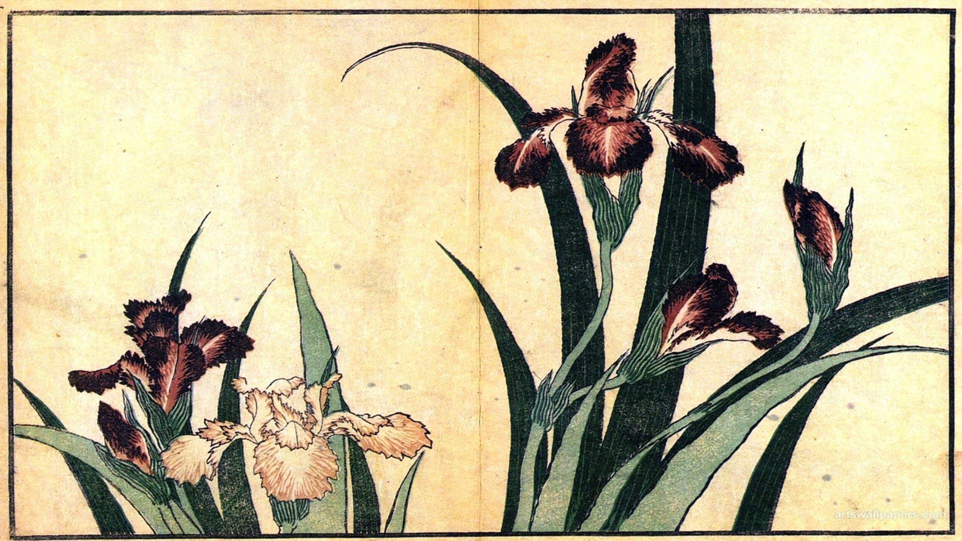 Hokusai Katsushika Ukiyo E Japanese Art Wallpaper | Wallpaper