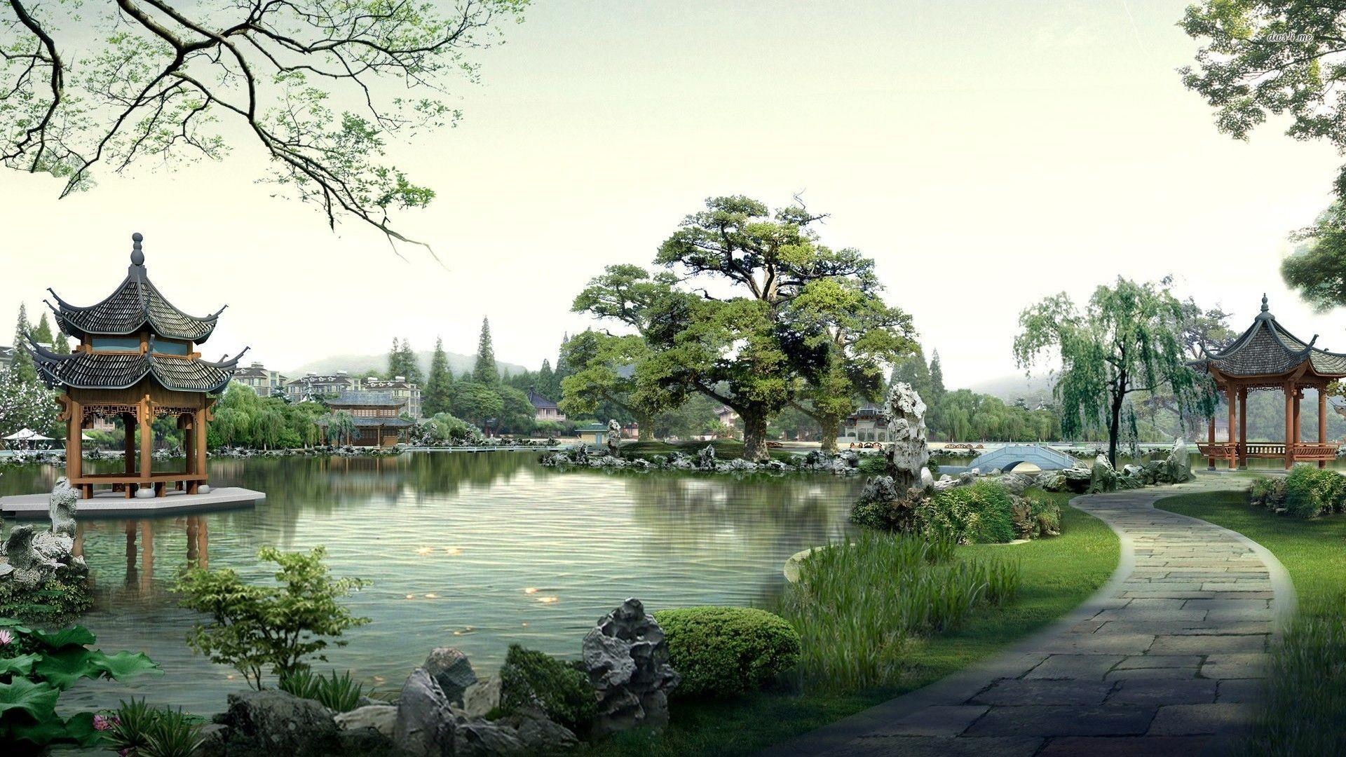 Japanese Garden Kyoto HD desktop wallpaper Widescreen High | HD Wallpapers  | Pinterest | Hd wallpaper, Wallpaper and Hd desktop