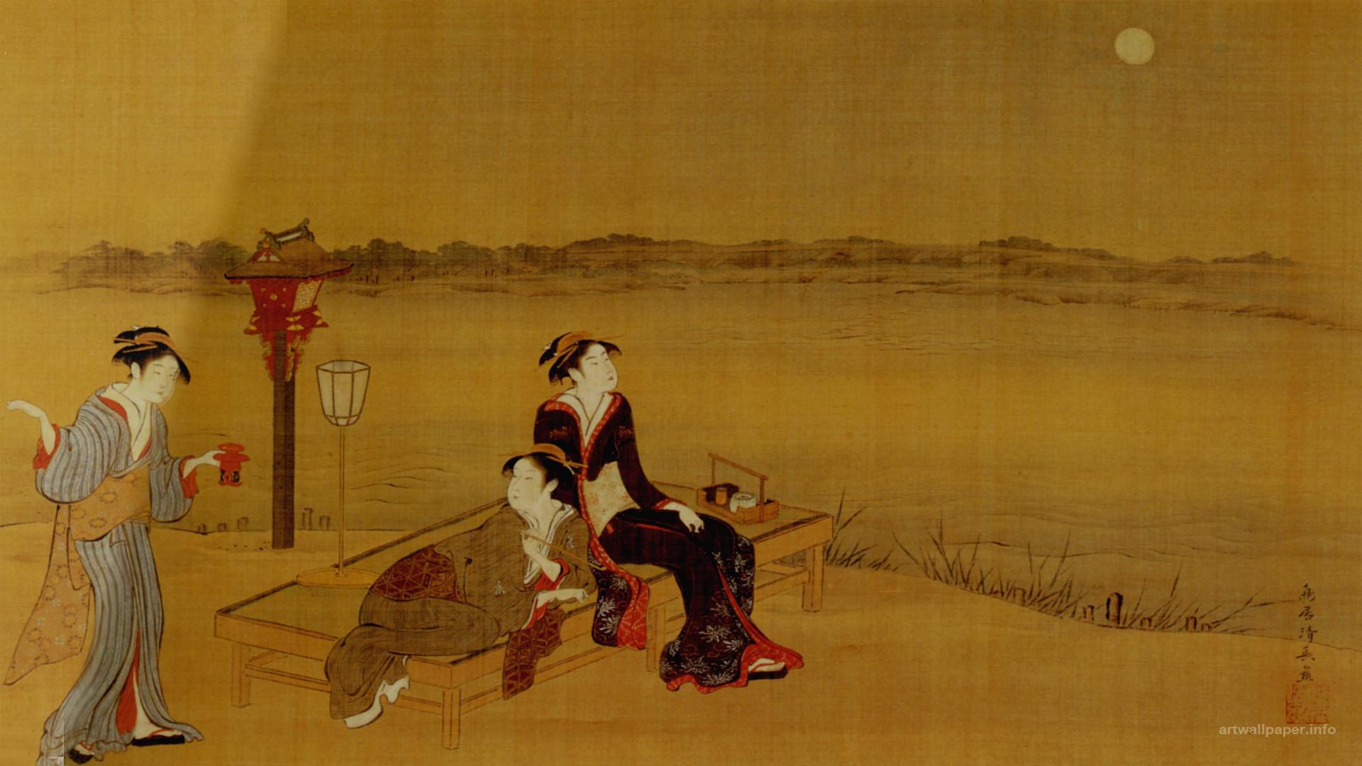 Traditional Japanese Art Wallpaper
