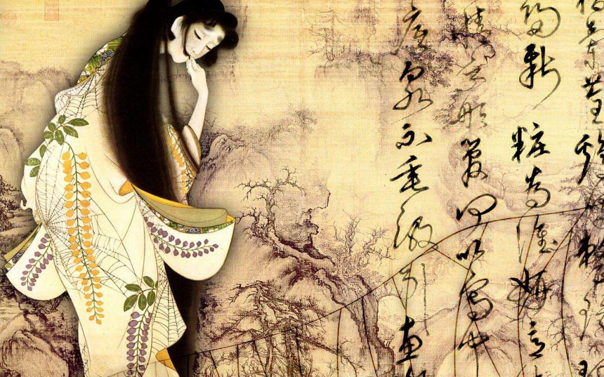 Japanese Art Wallpaper – WallpaperSafari