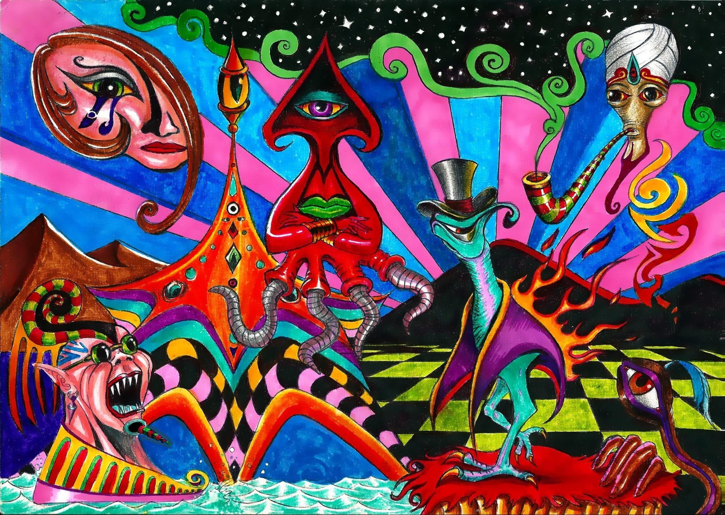 Acid Trip Backgrounds – Wallpaper Cave