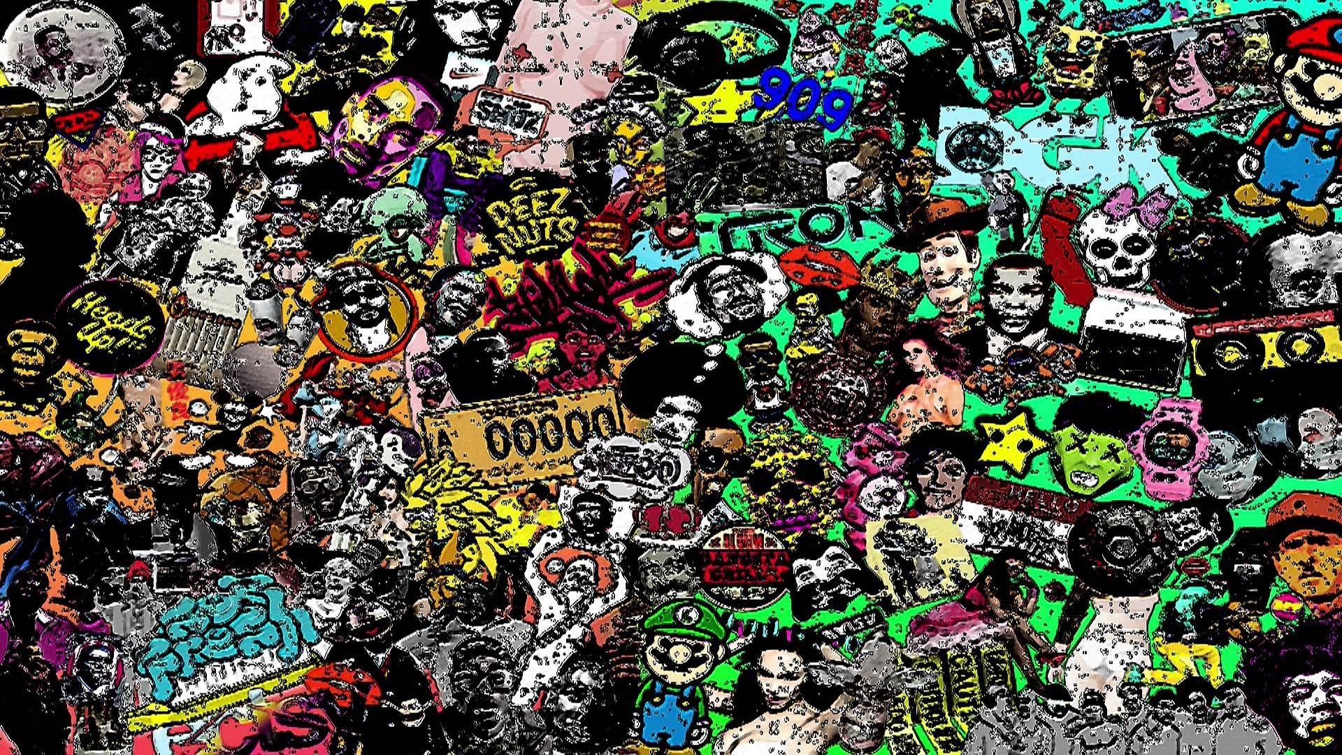 acid good trip wallpaper …