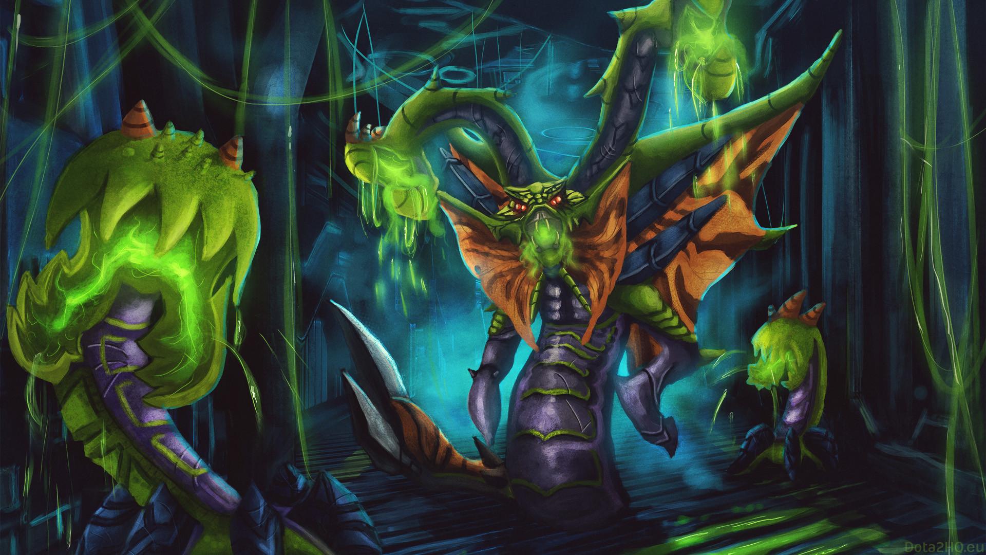 Venomancer Wallpaper [The Acid Hydra]