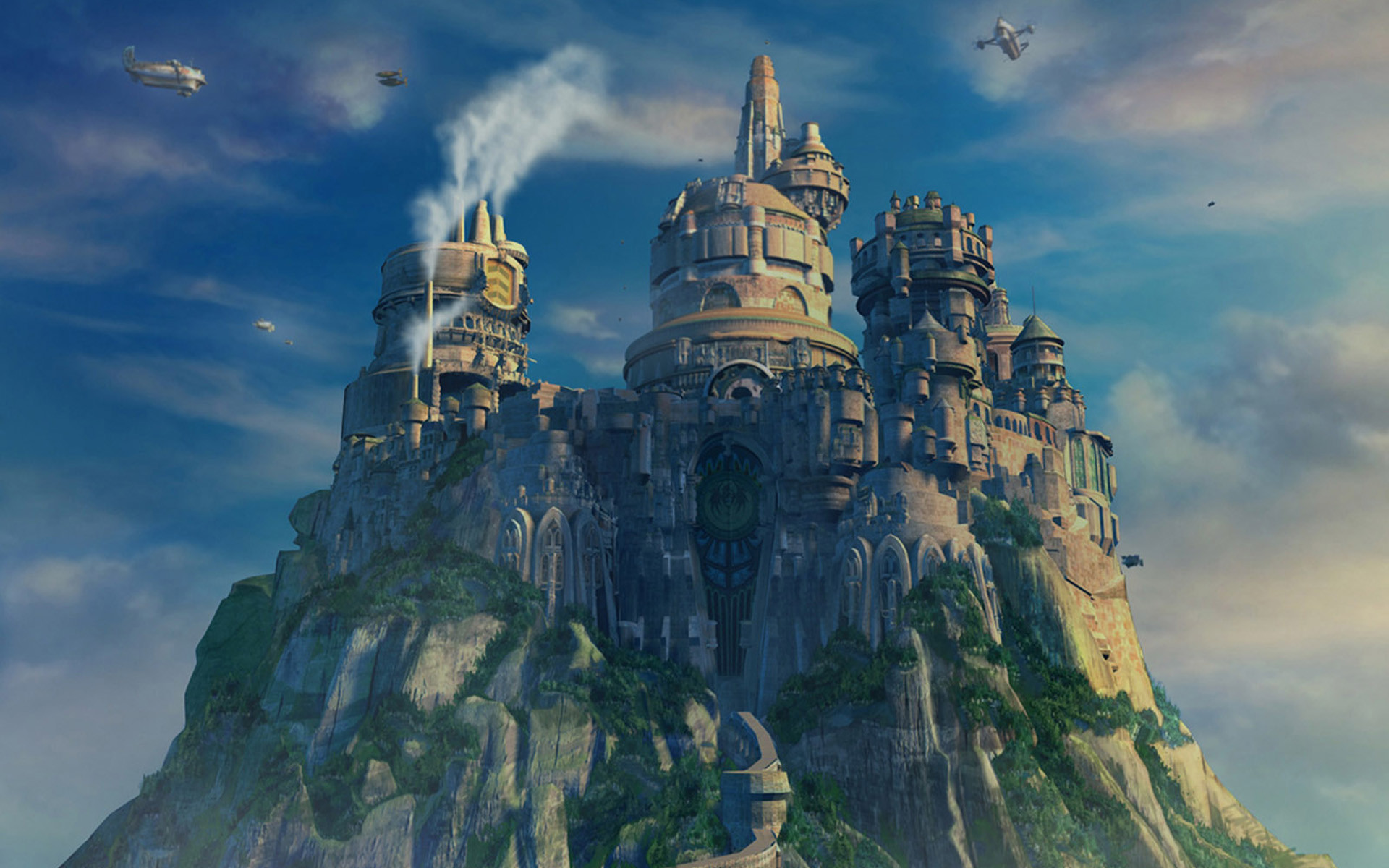 Castles Final Fantasy IX Yoshitaka Amano wallpaper     73653    WallpaperUP