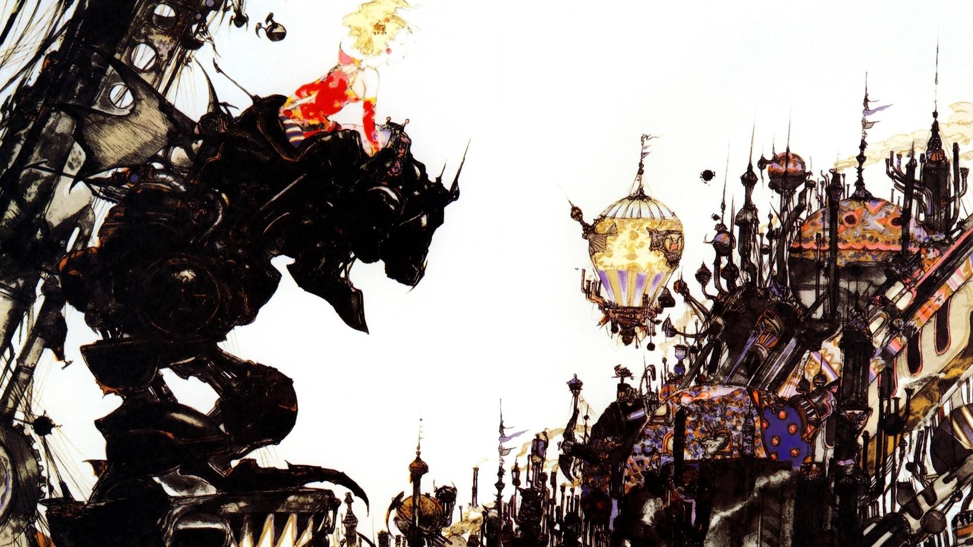 Yoshitaka Amano Final Fantasy 6 …