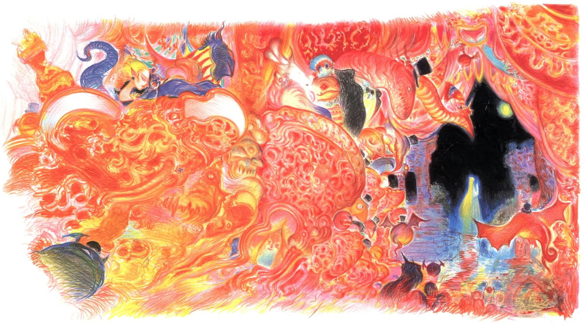 Final Fantasy VI – Dream Opera – Yoshitaka Amano