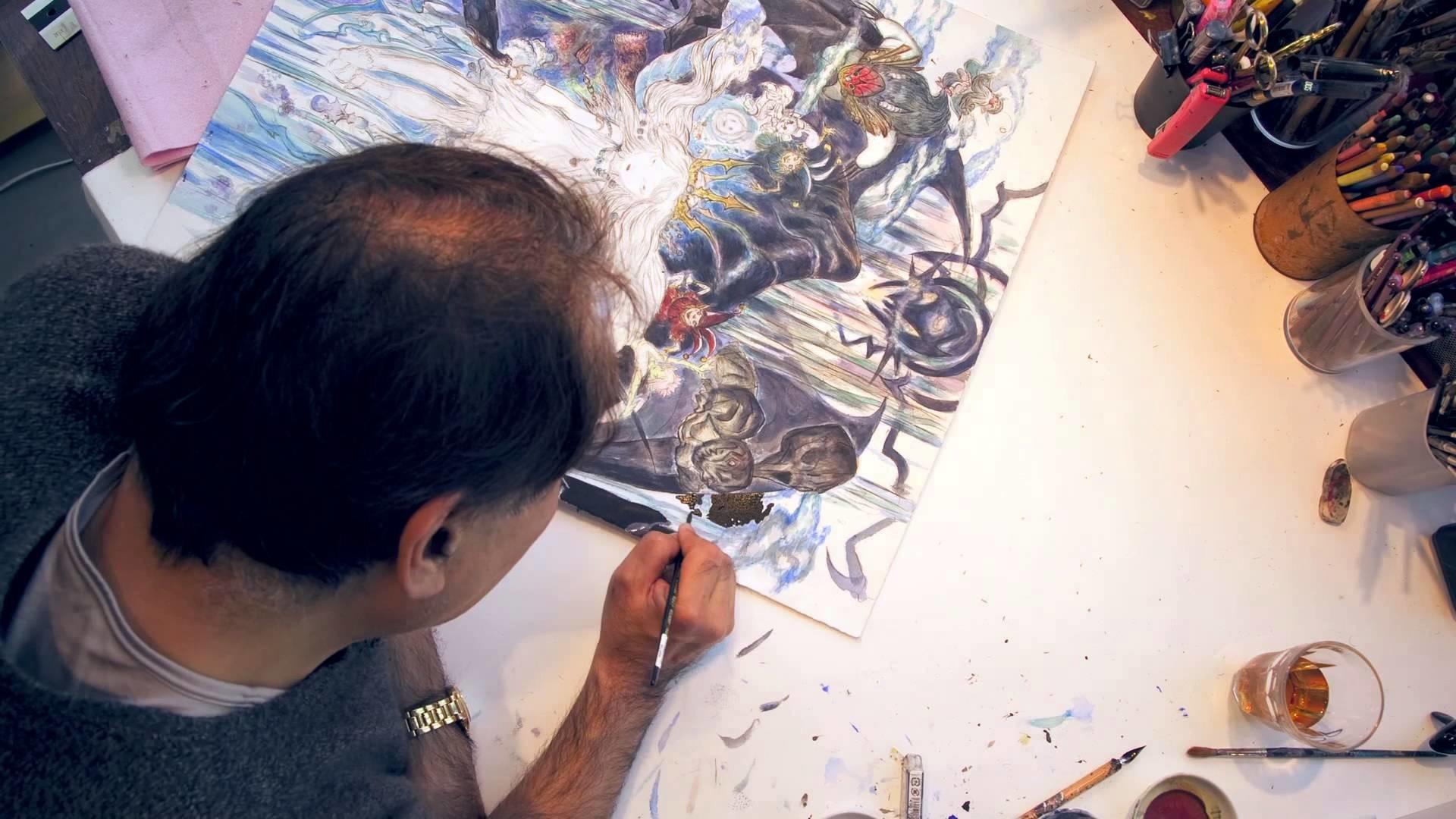 Child of Light Artwork Speed Painting Video ft. Artist Yoshitaka Amano –  YouTube
