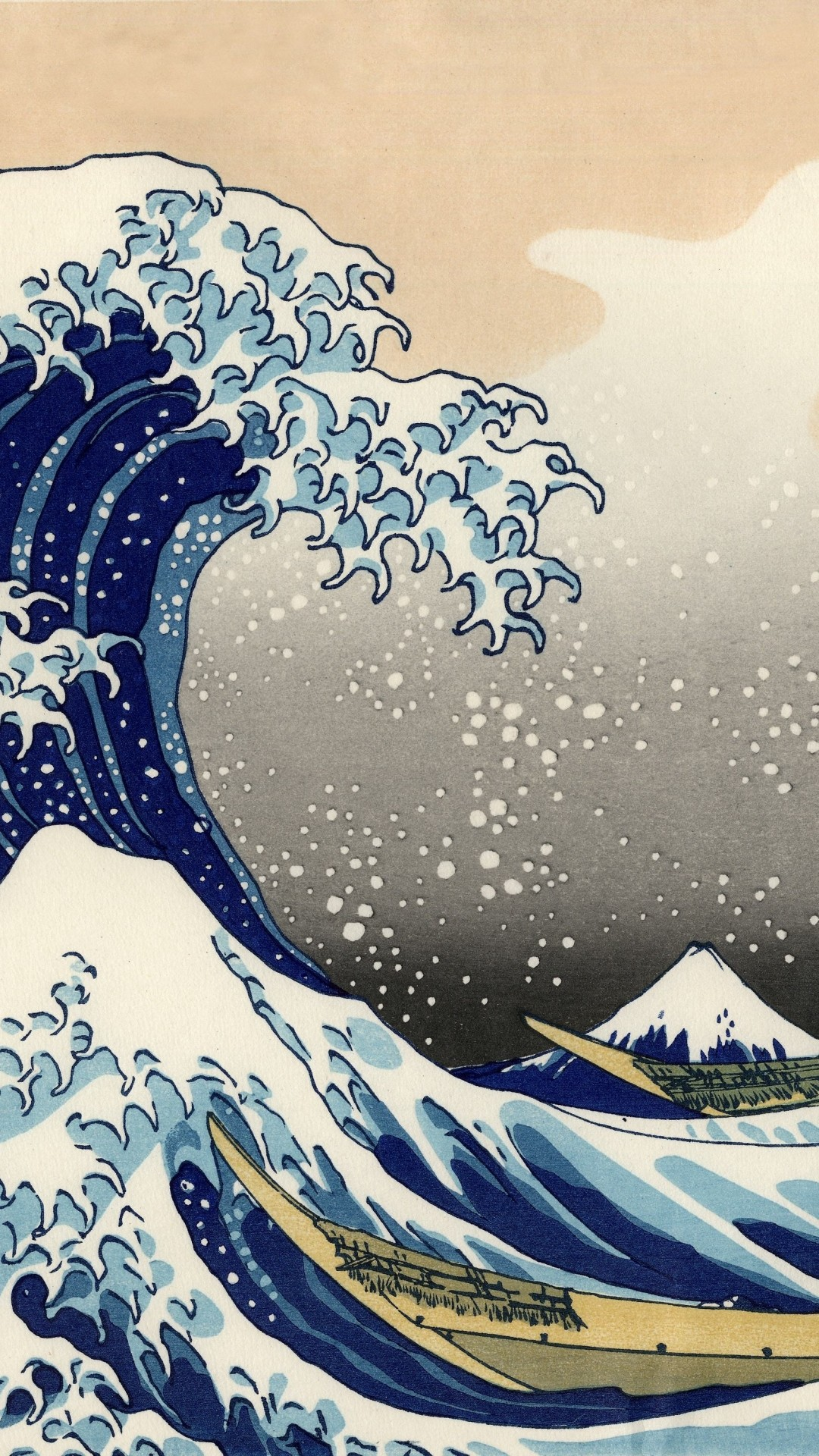 iPhone 5 – Artistic/The Great Wave Off Kanagawa – Wallpaper ID: 582819