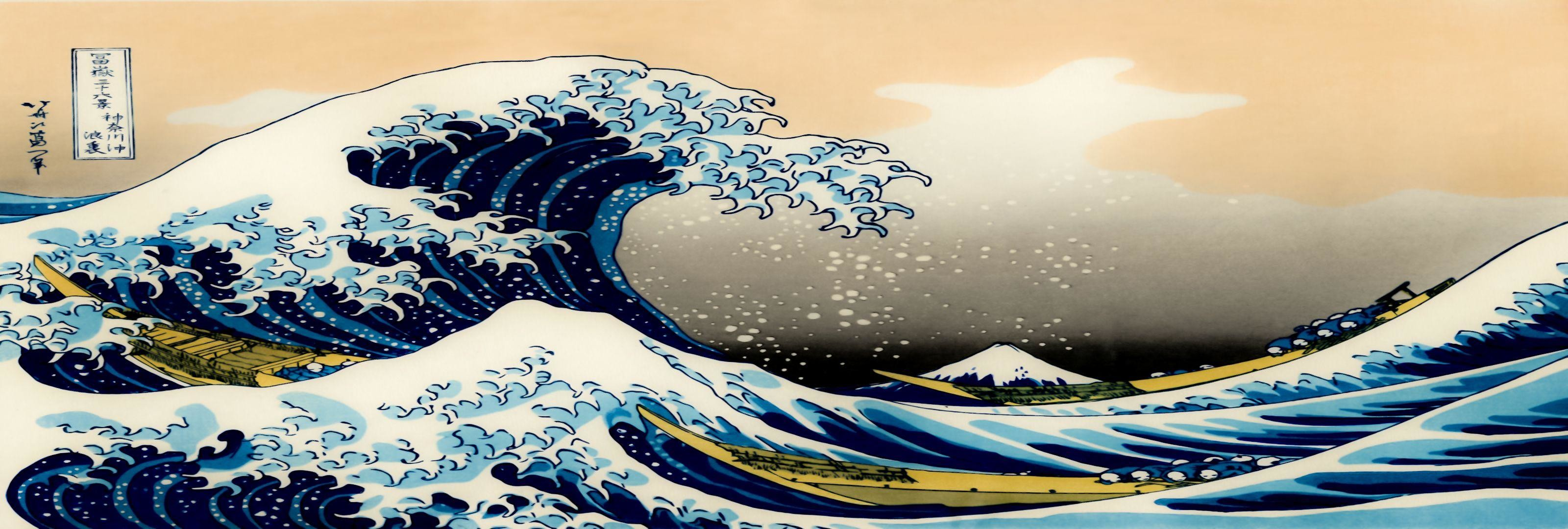 Great Wave Off Kanagawa Wallpaper – WallpaperSafari