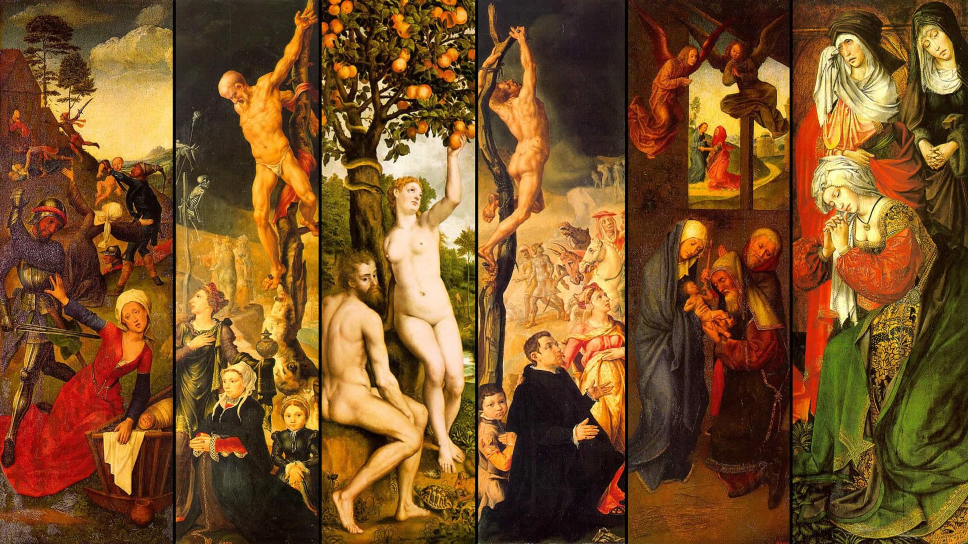 Renaissance Art Wallpaper