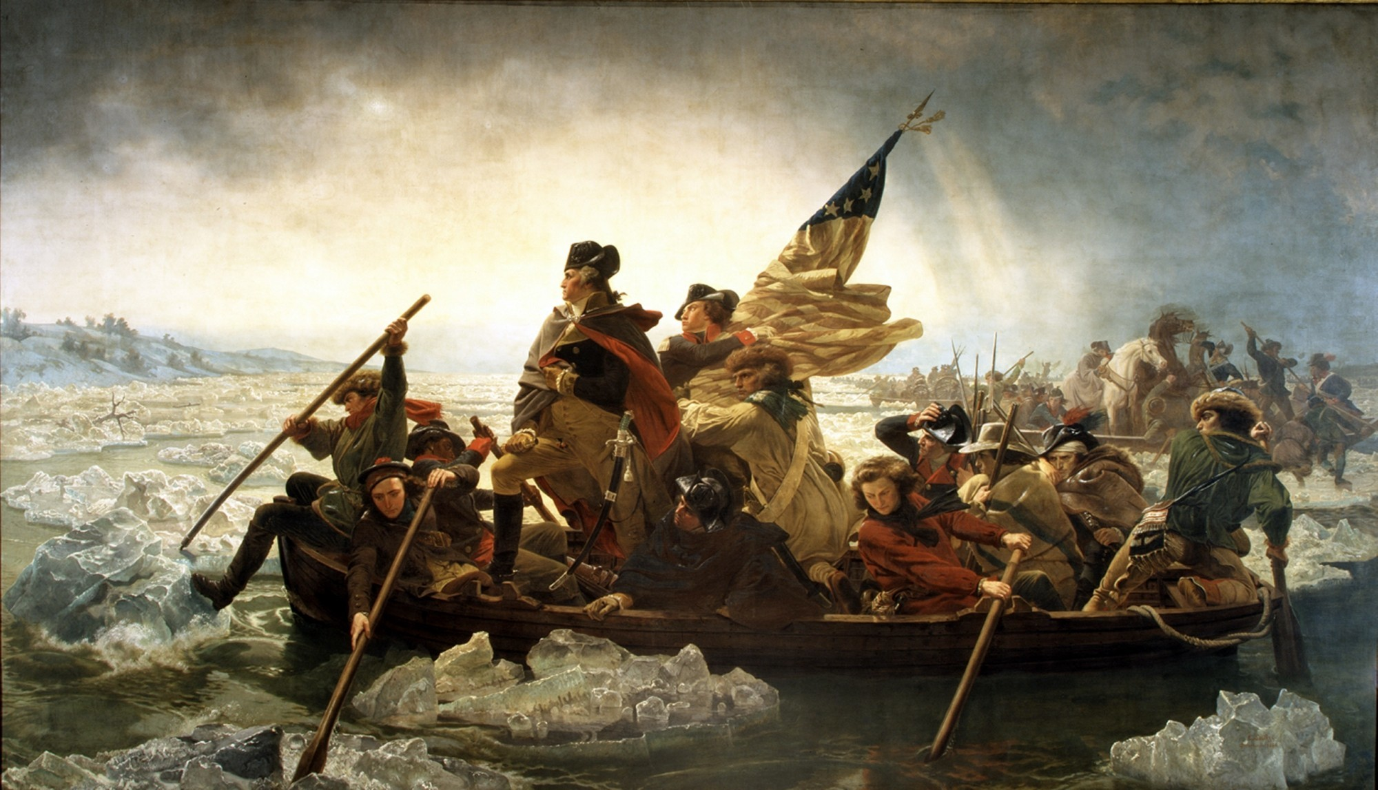 Emanuel Gottlieb Leutze – Washington Crossing The Delawere …