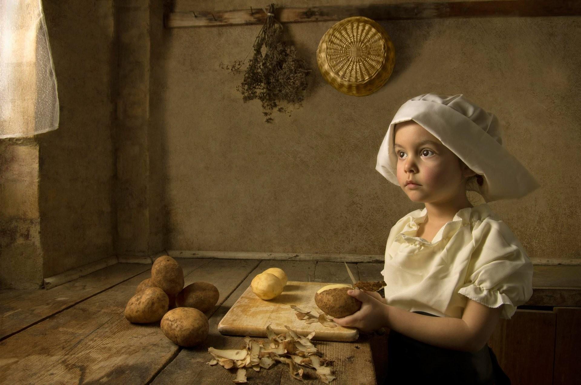 girl cook art style imitation styling renaissance ♛
